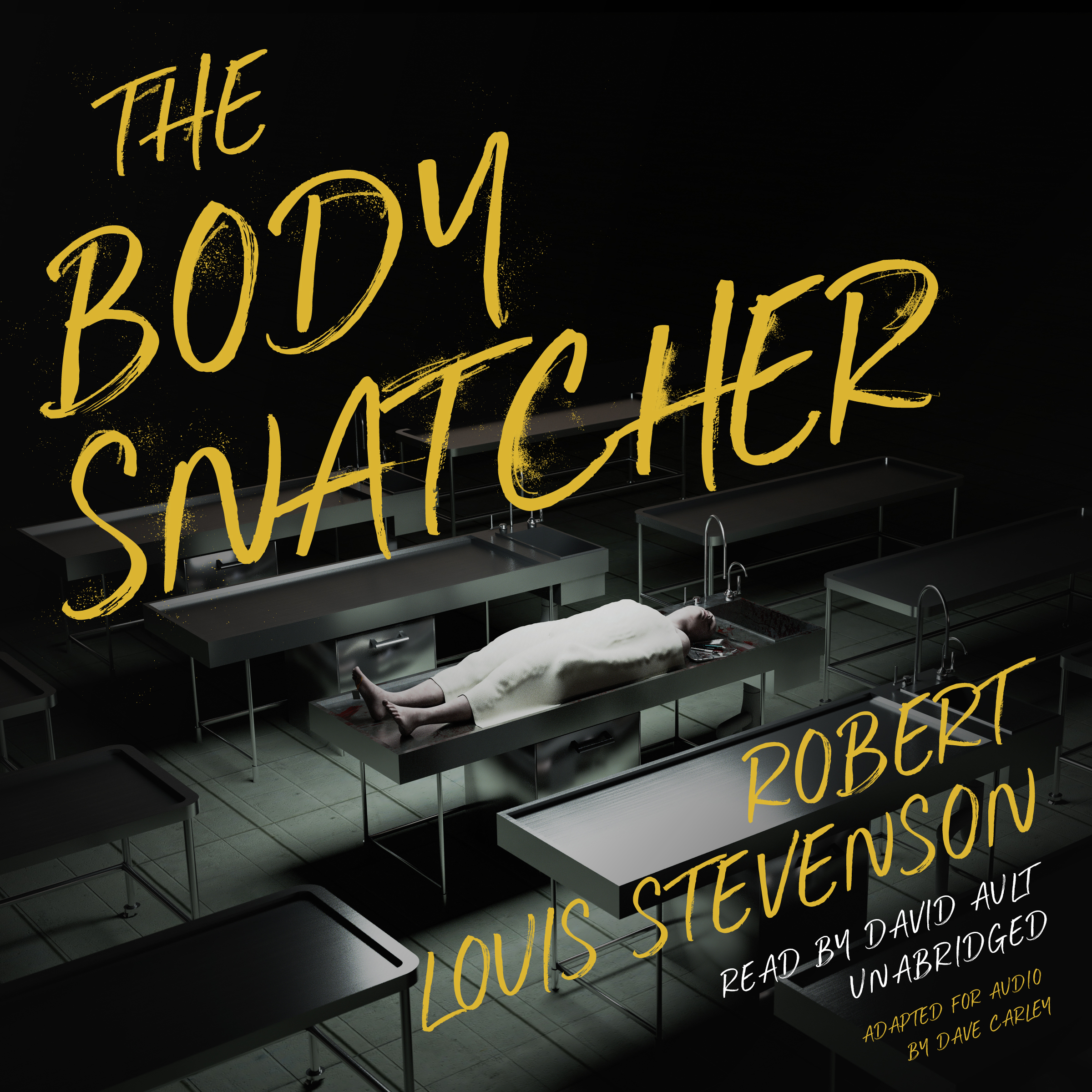Printable The Body Snatcher Audiobook Cover Art