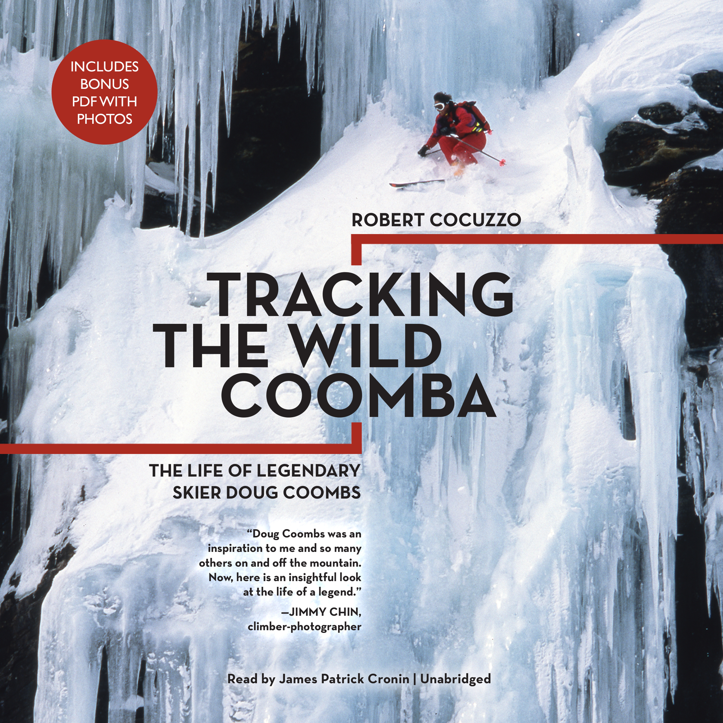 Printable Tracking the Wild Coomba: The Life of Legendary Skier Doug Coombs Audiobook Cover Art