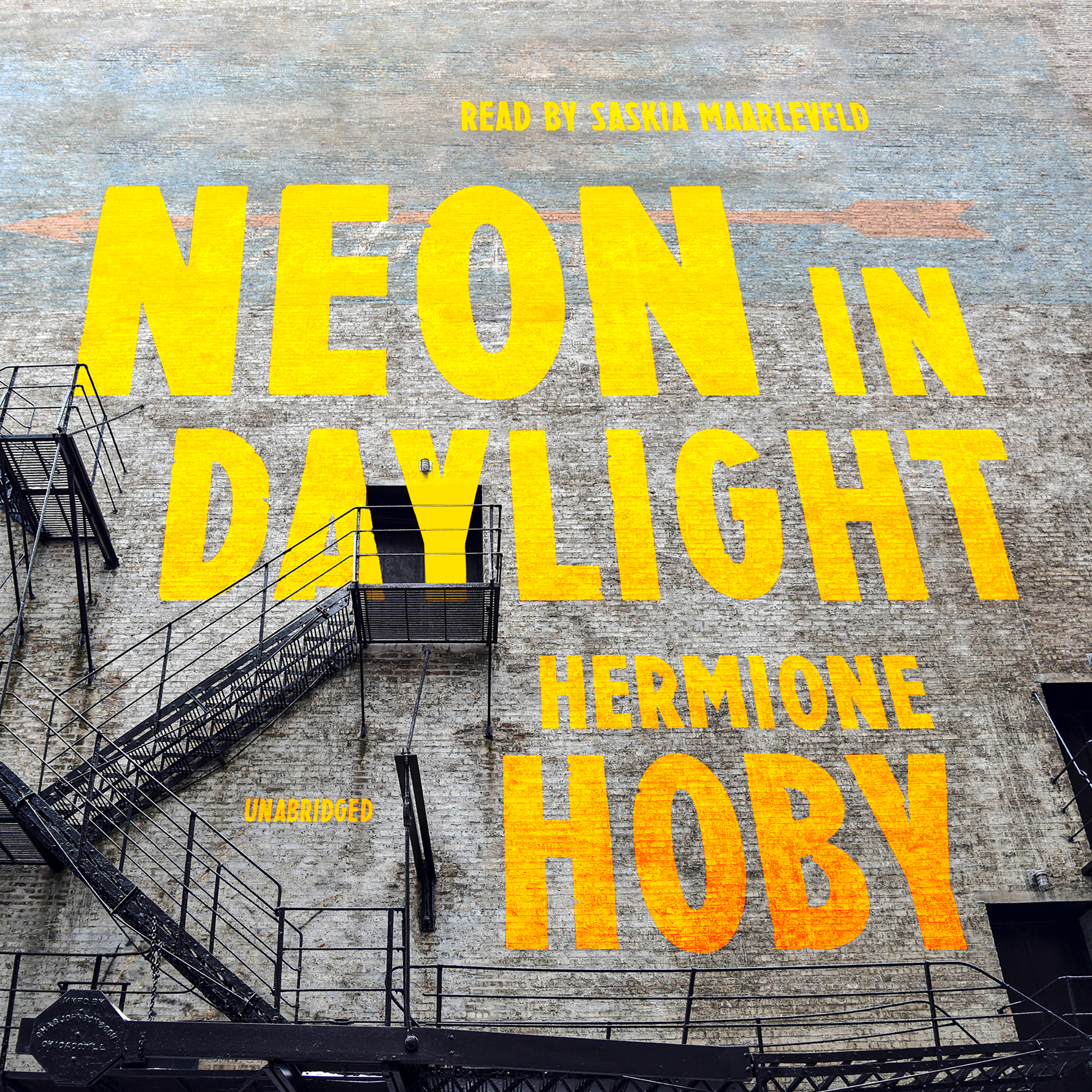 Printable Neon in Daylight Audiobook Cover Art