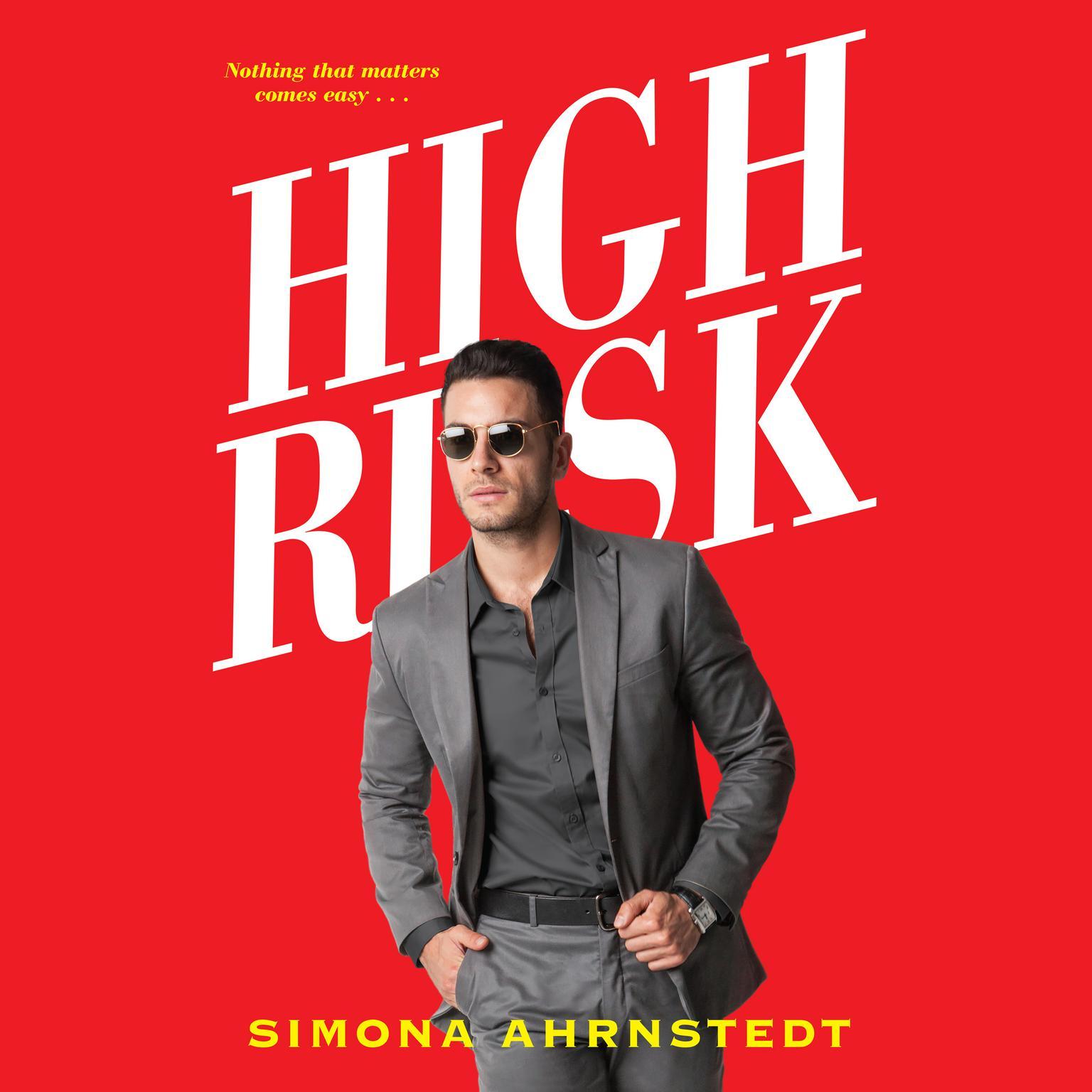 High Risk Audiobook, by Simona Ahrnstedt