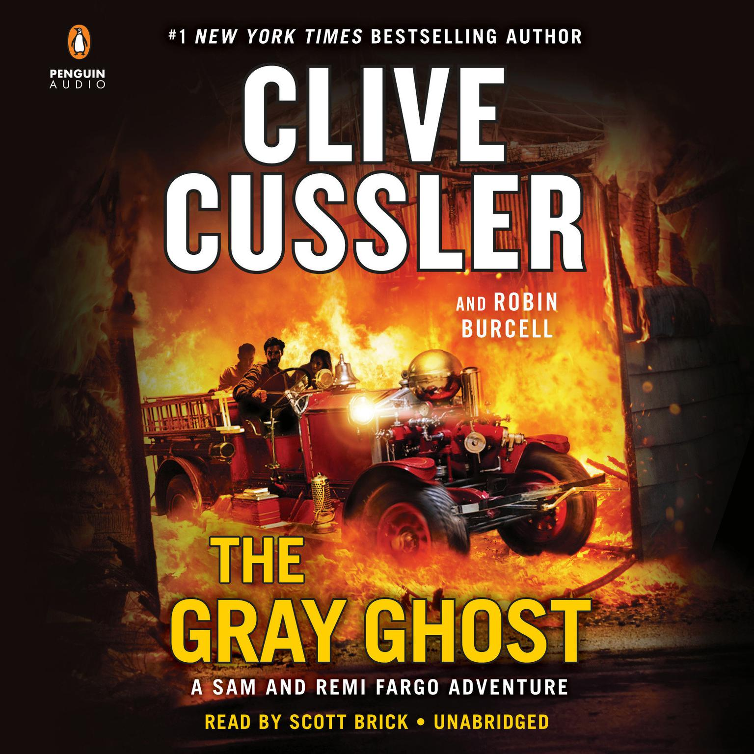Printable The Gray Ghost Audiobook Cover Art