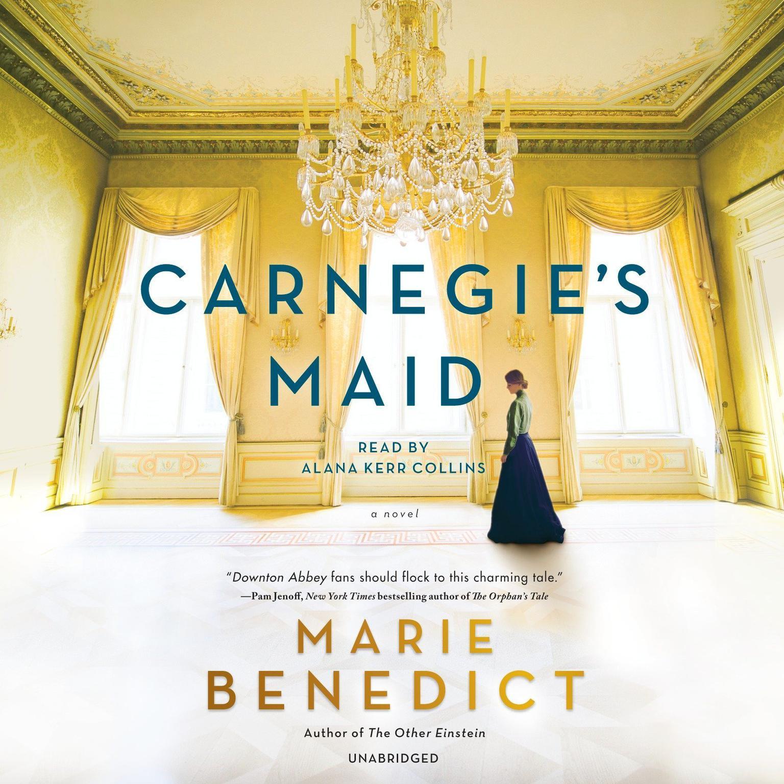 Printable Carnegie's Maid: A Novel Audiobook Cover Art