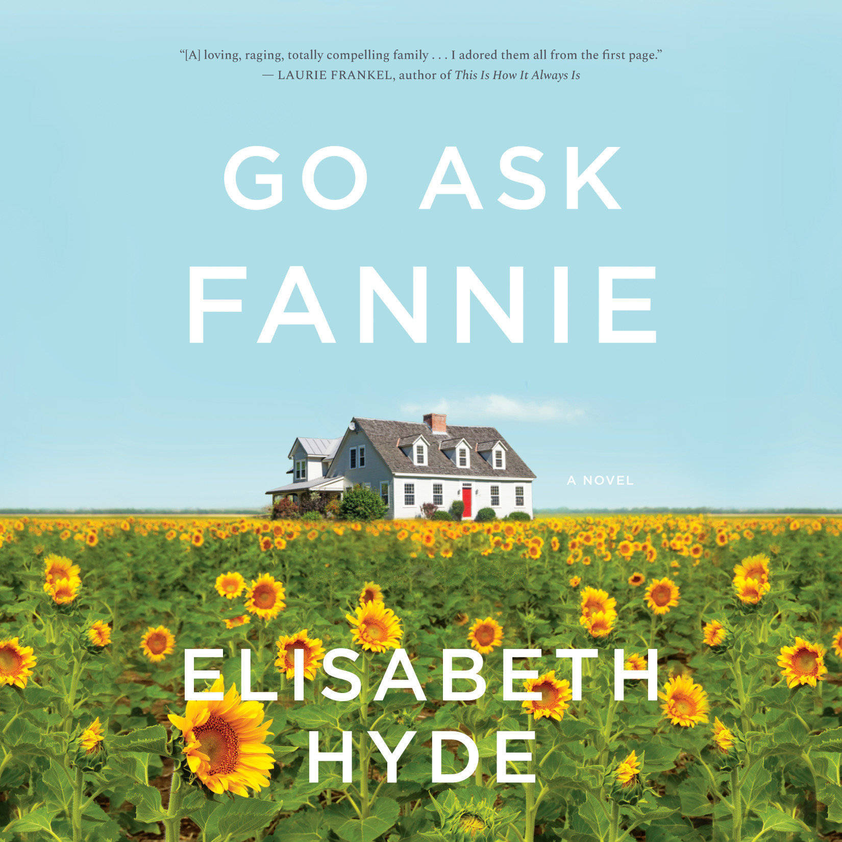 Printable Go Ask Fannie Audiobook Cover Art
