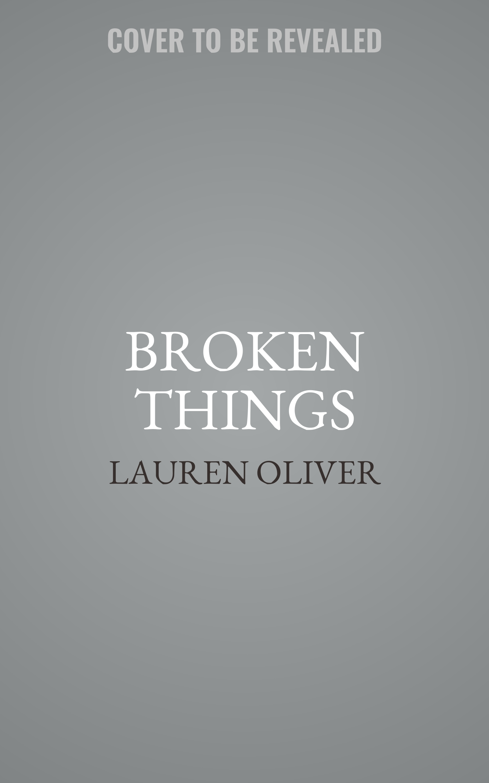 Printable Broken Things Audiobook Cover Art