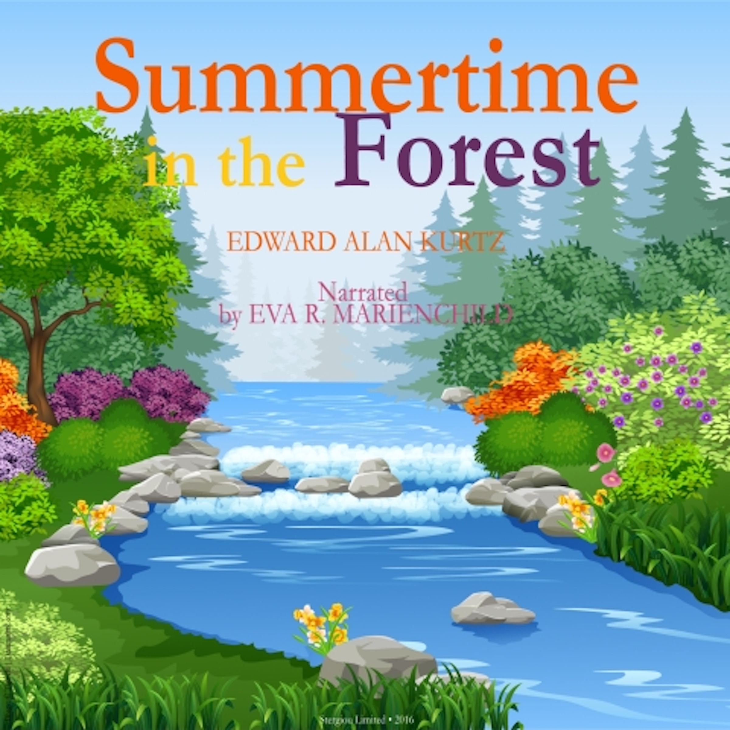 Printable Summertime in the Forest Audiobook Cover Art