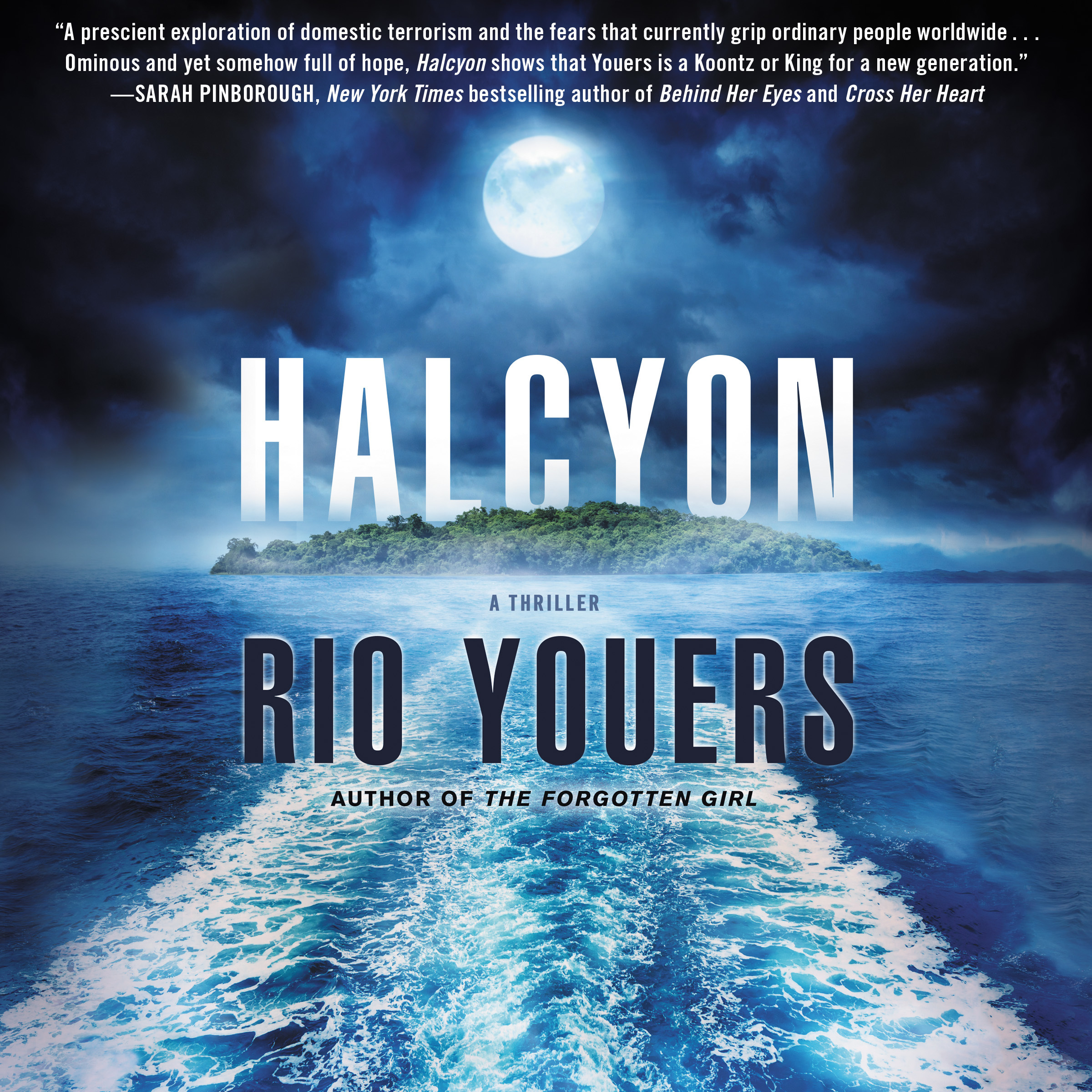 Printable Halcyon: A Thriller Audiobook Cover Art