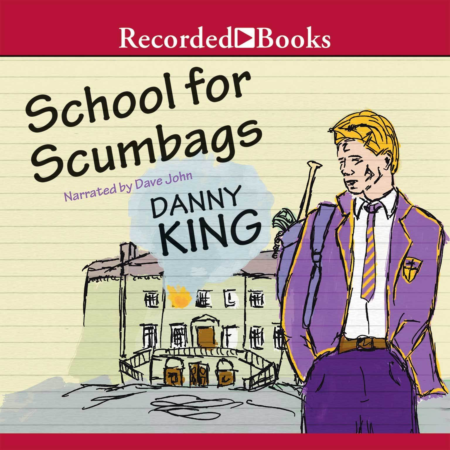 Printable School for Scumbags Audiobook Cover Art