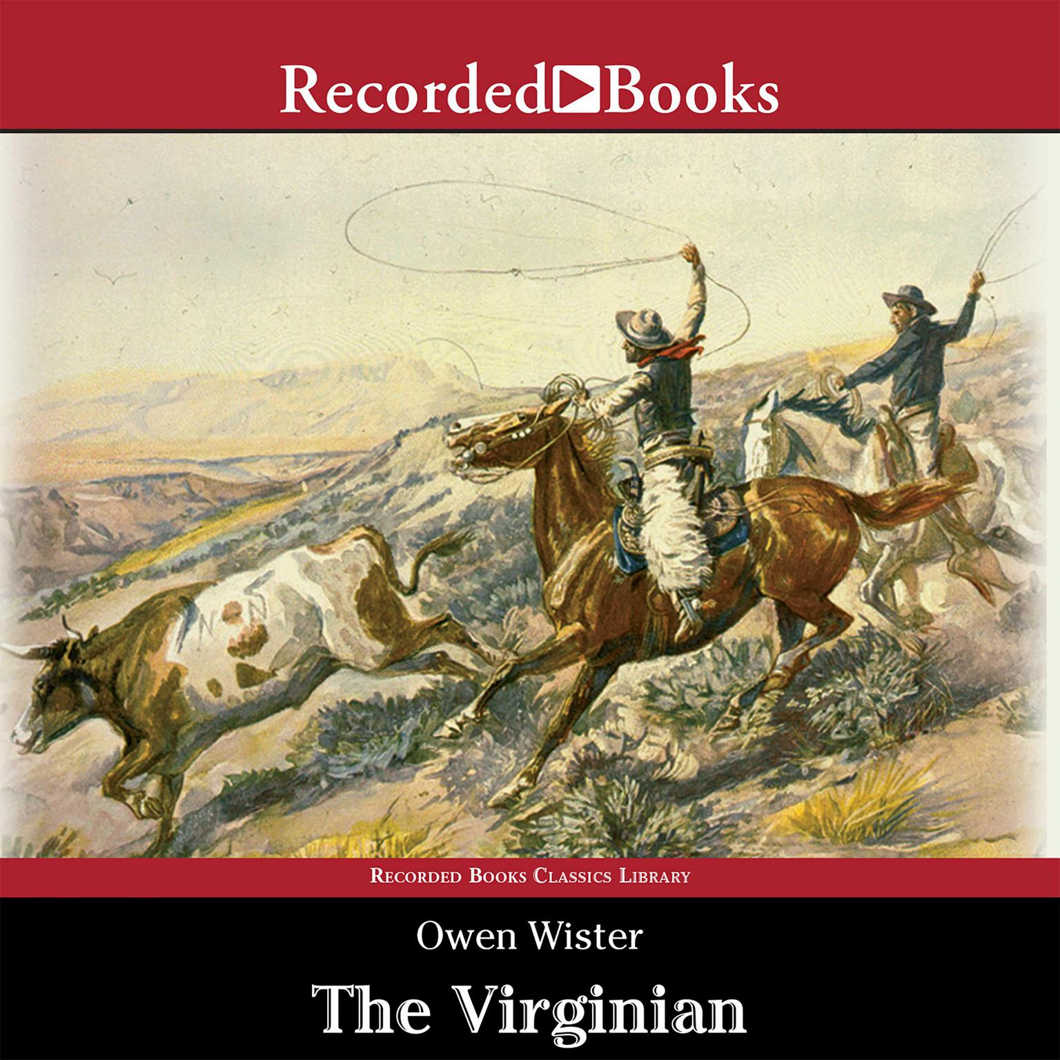 Printable The Virginian: A Horseman of the Plains Audiobook Cover Art