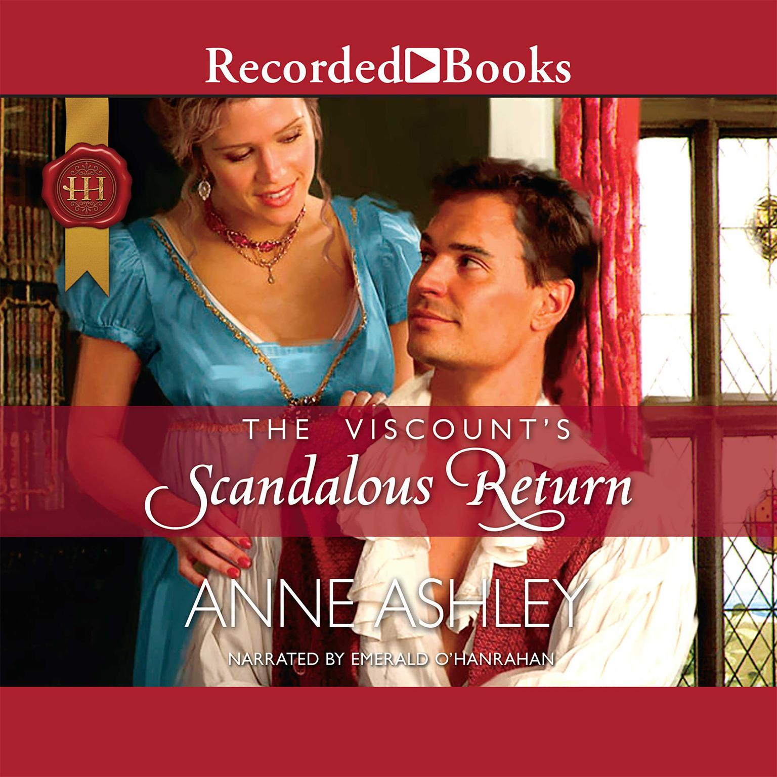 Printable The Viscount's Scandalous Return Audiobook Cover Art