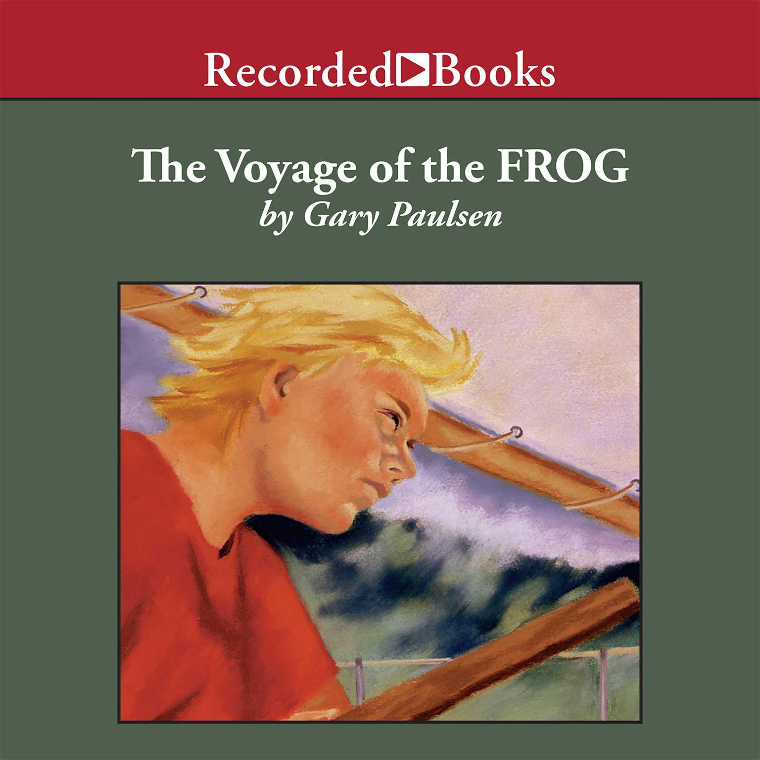 Printable The Voyage of the Frog Audiobook Cover Art