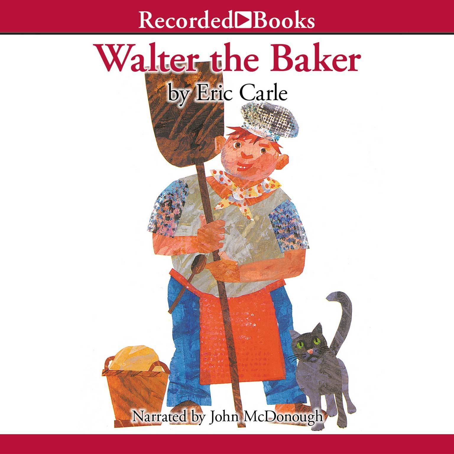 Printable Walter the Baker Audiobook Cover Art
