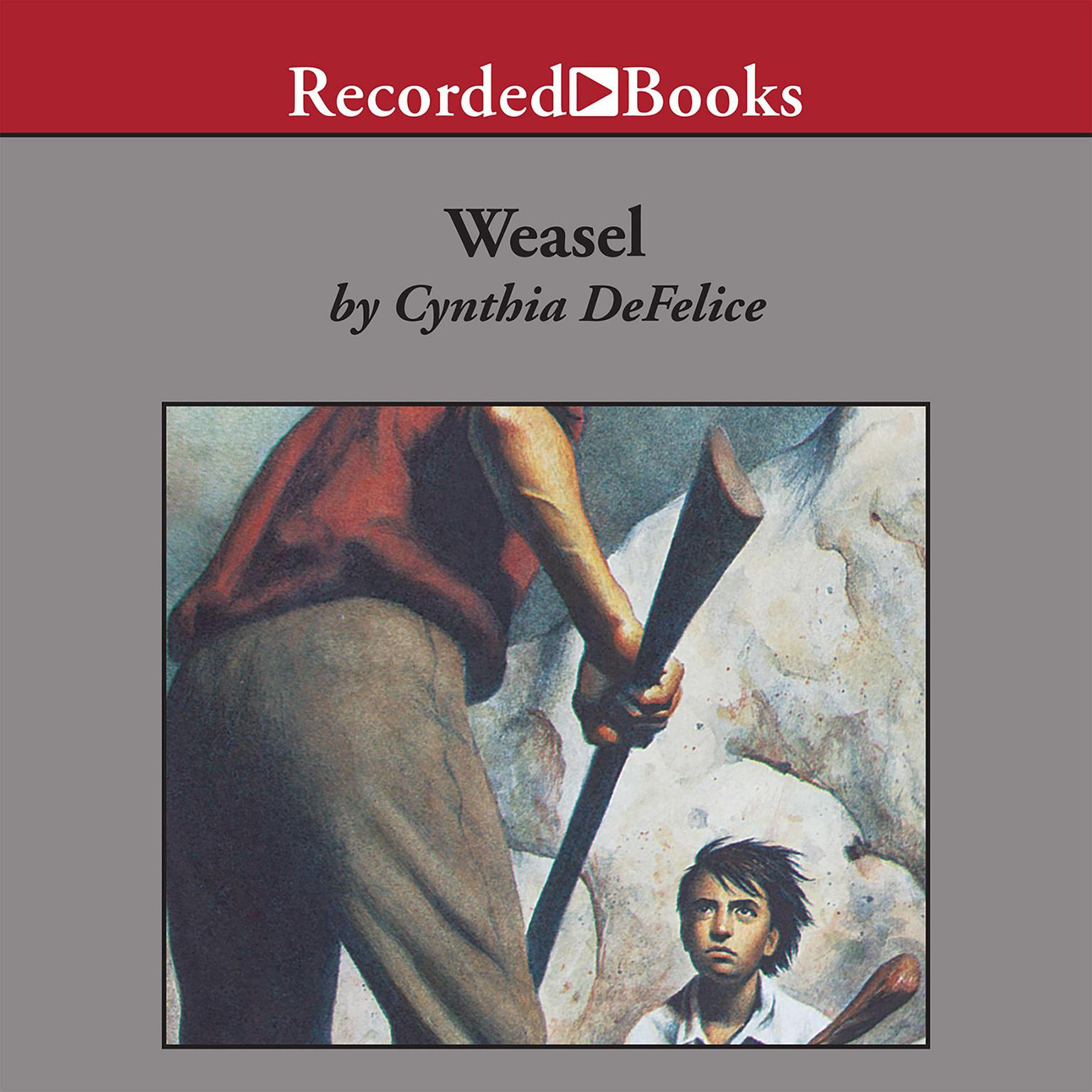 Printable Weasel Audiobook Cover Art