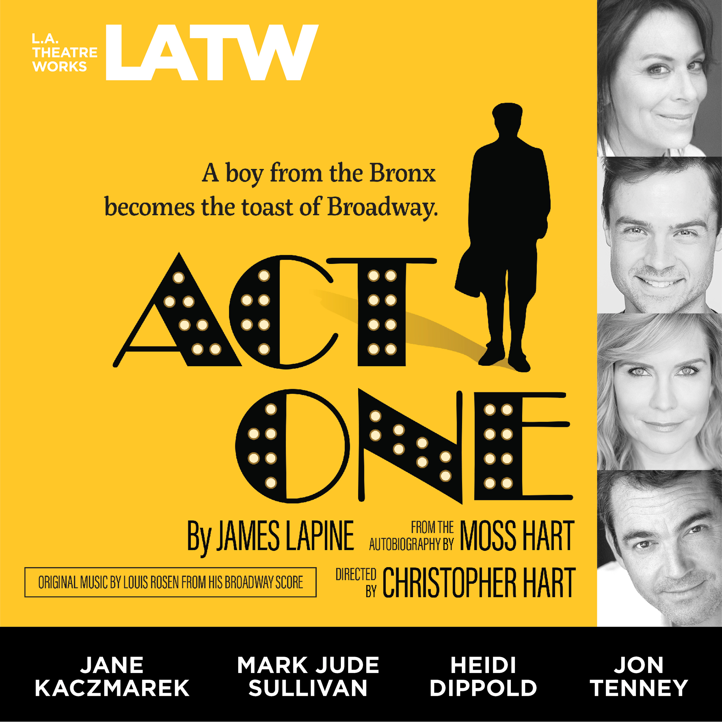 Printable Act One: from the Autobiography by Moss Hart Audiobook Cover Art
