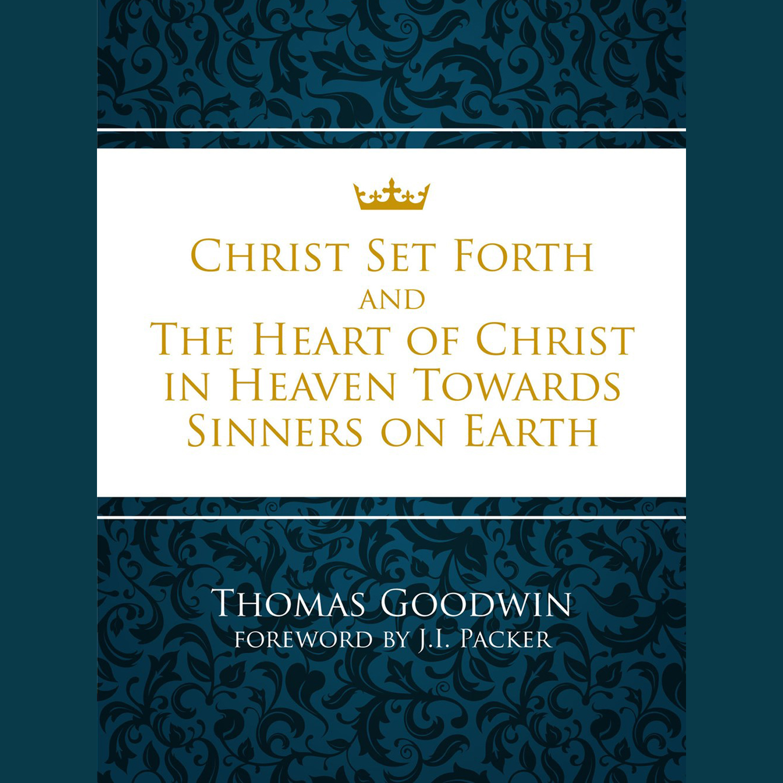 Printable Christ Set Forth Audiobook Cover Art
