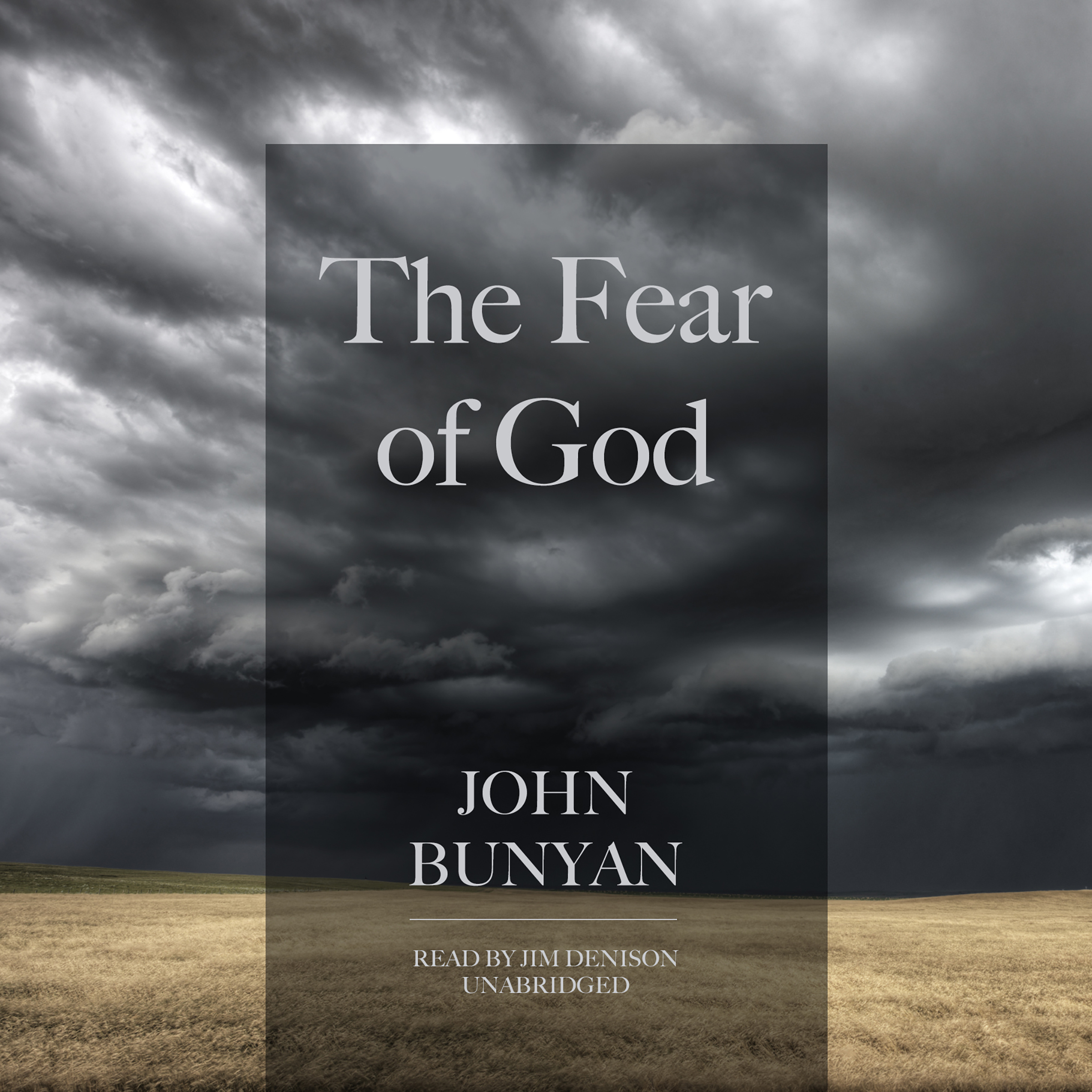 Printable The Fear of God Audiobook Cover Art