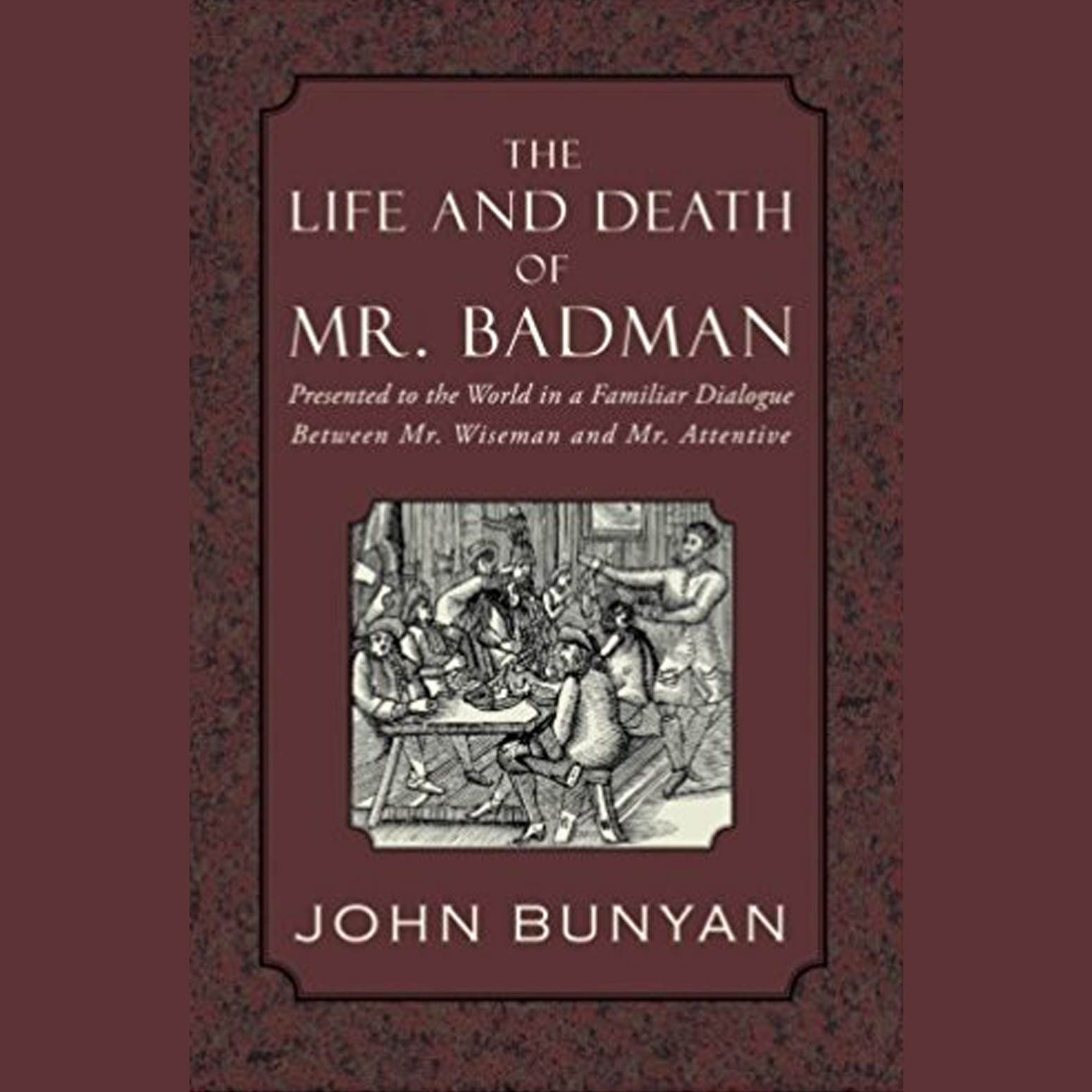 Printable The Life and Death of Mr. Badman  Audiobook Cover Art