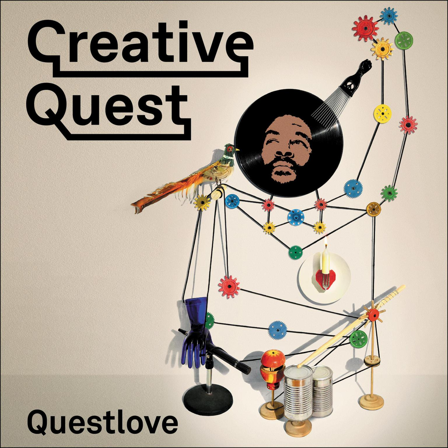 Printable Creative Quest Audiobook Cover Art