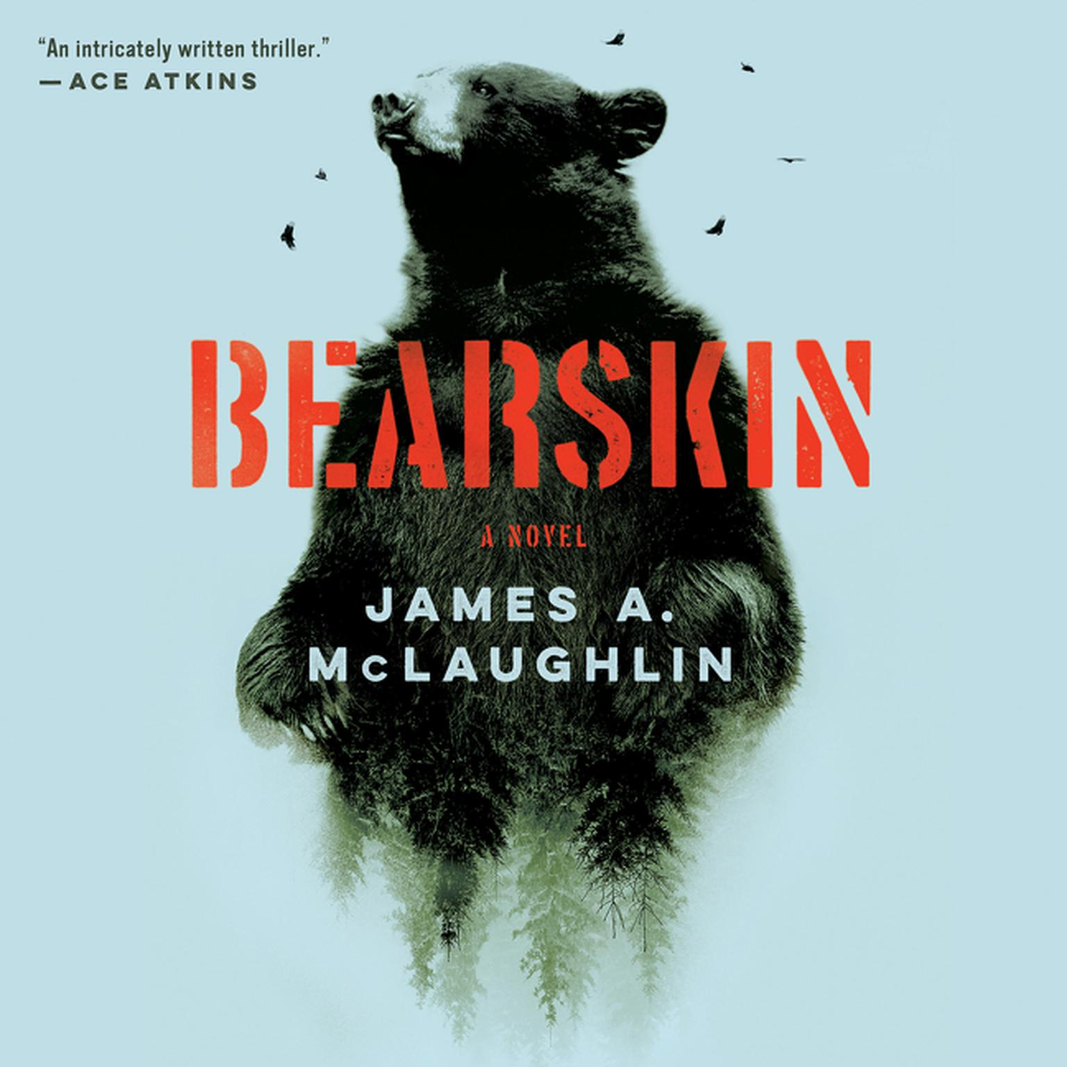 Printable Bearskin: A Novel Audiobook Cover Art