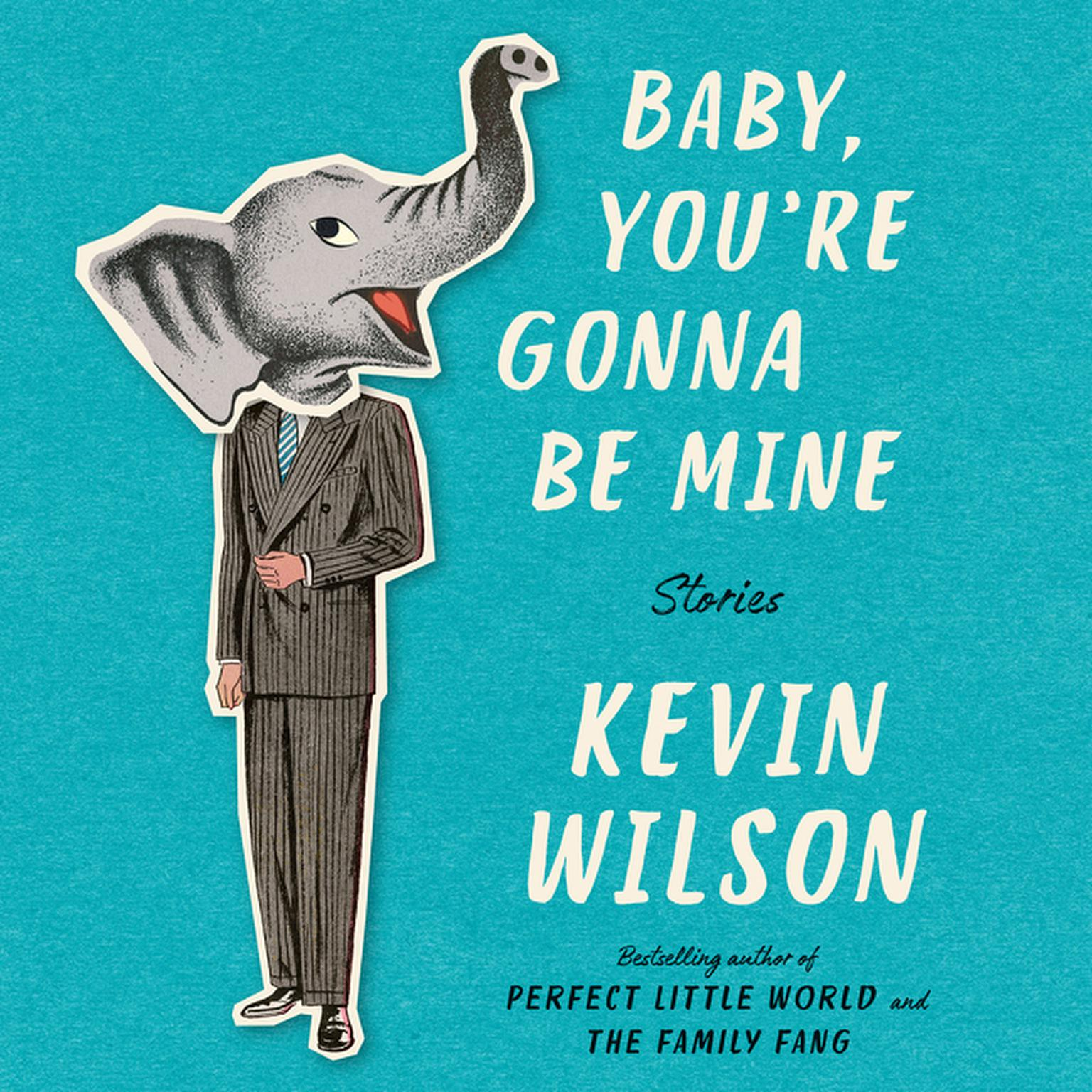 Printable Baby, You're Gonna Be Mine: Stories Audiobook Cover Art