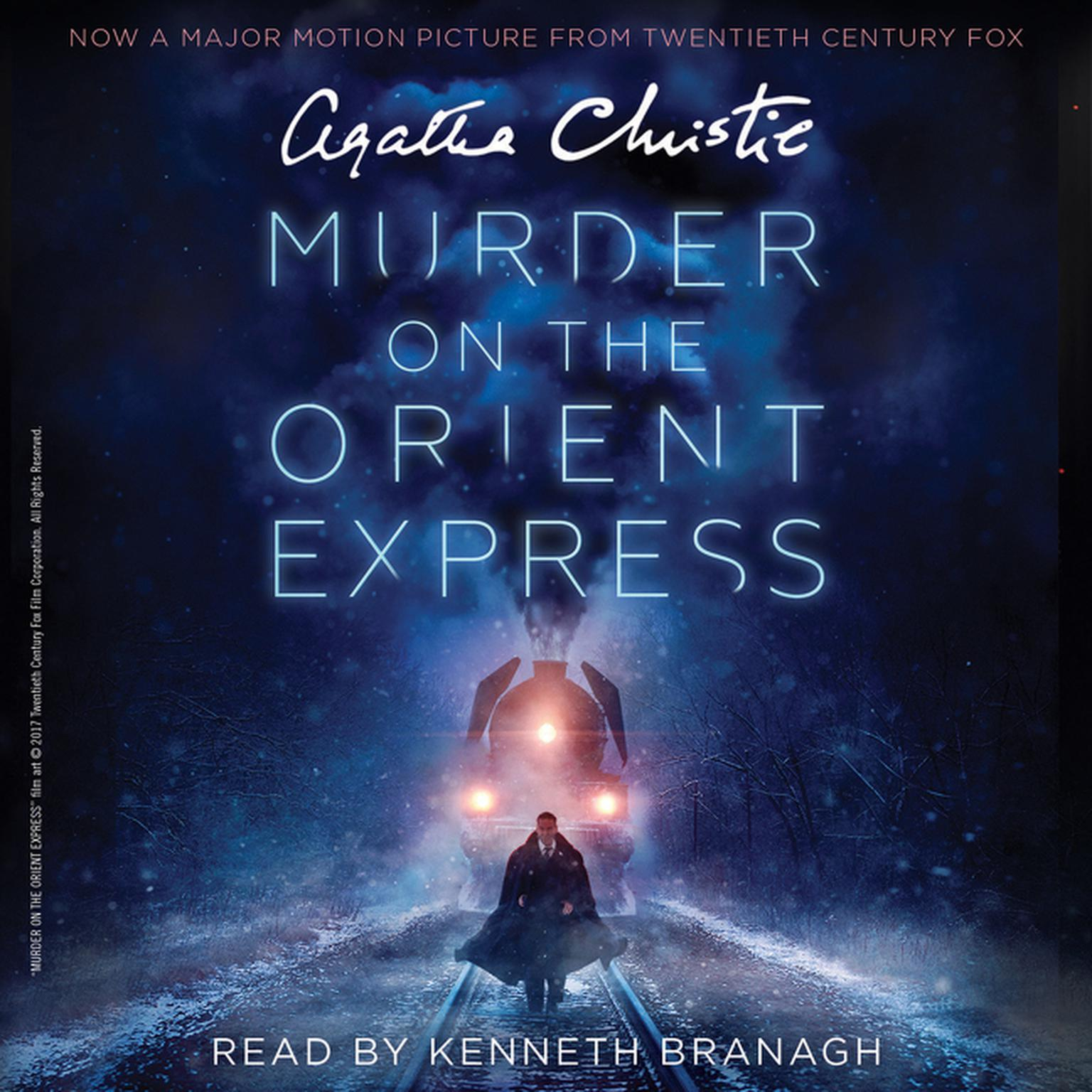 Printable Murder on the Orient Express: A Hercule Poirot Mystery Audiobook Cover Art