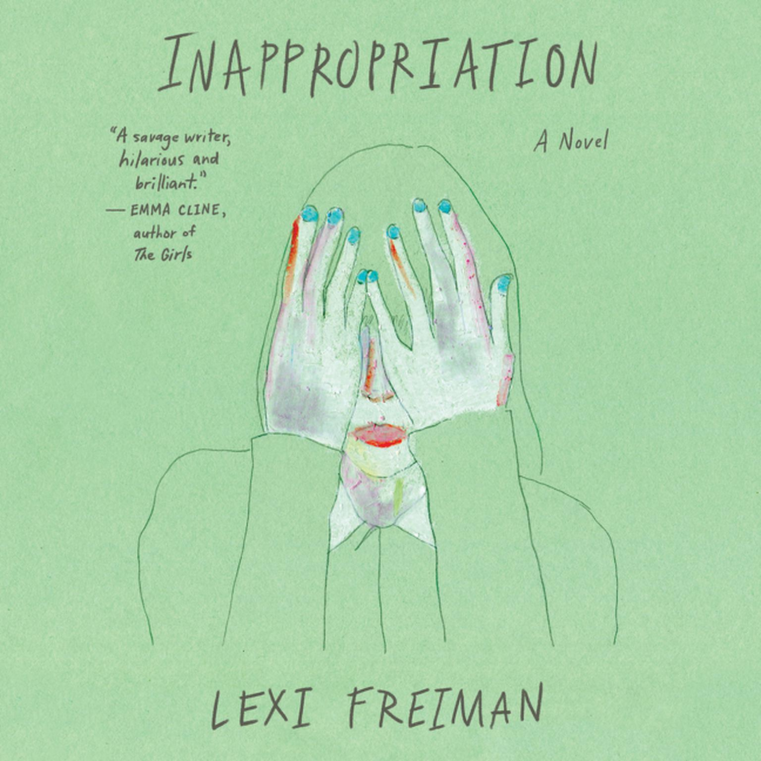 Printable Inappropriation: A Novel Audiobook Cover Art