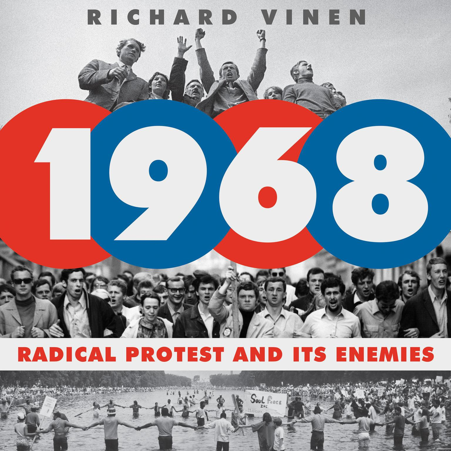Printable 1968: Radical Protest and Its Enemies Audiobook Cover Art