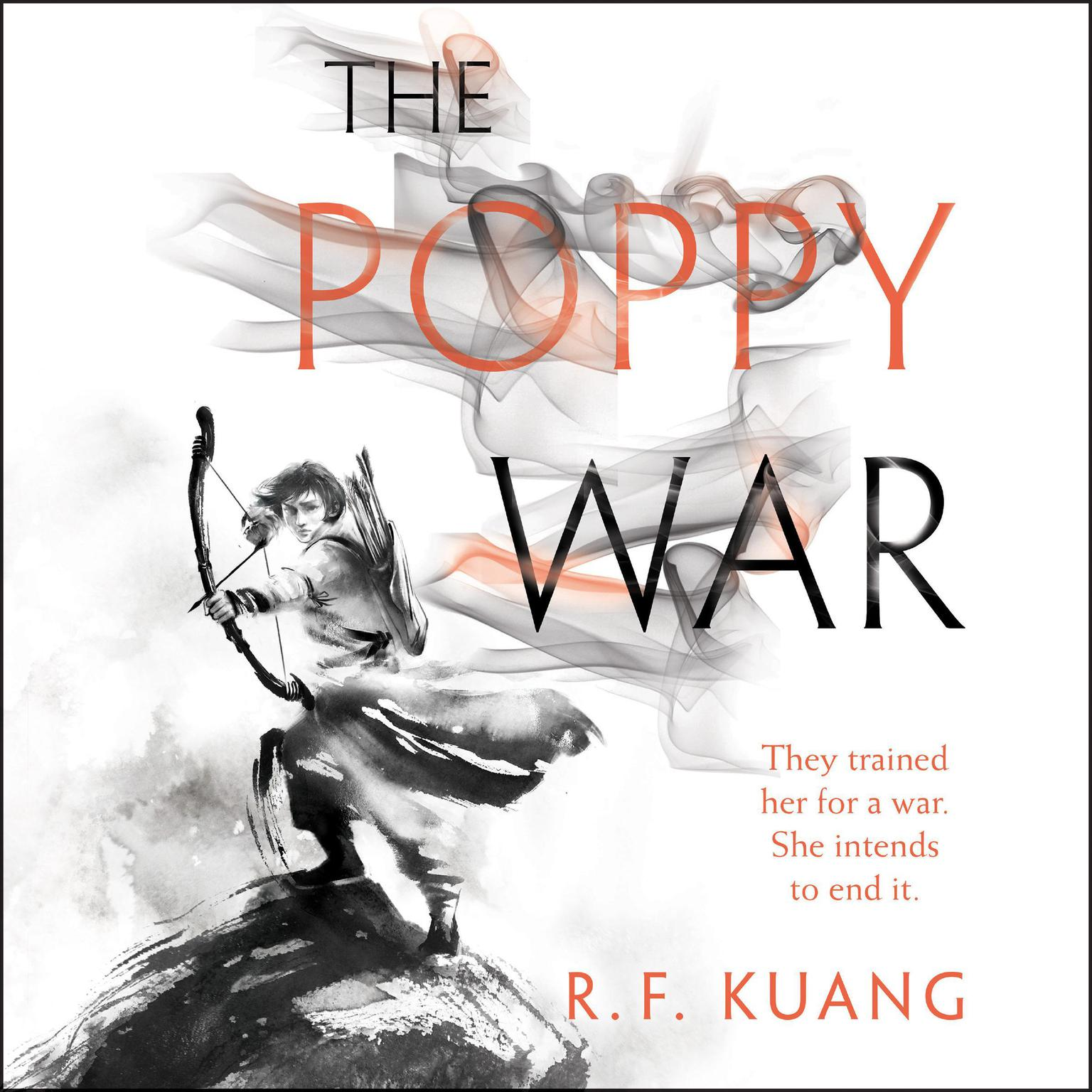 Printable The Poppy War: A Novel Audiobook Cover Art