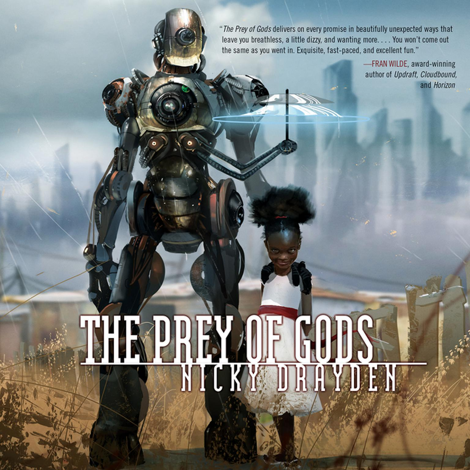 Printable The Prey of Gods Audiobook Cover Art