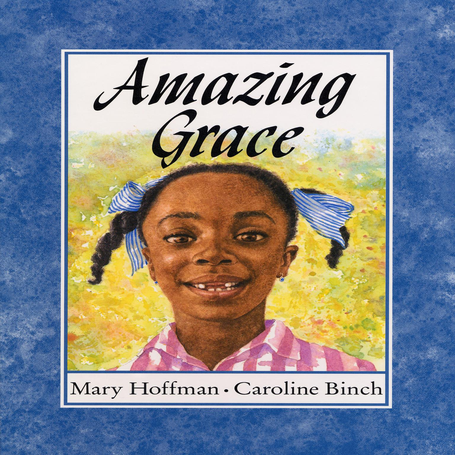 Printable Amazing Grace Audiobook Cover Art