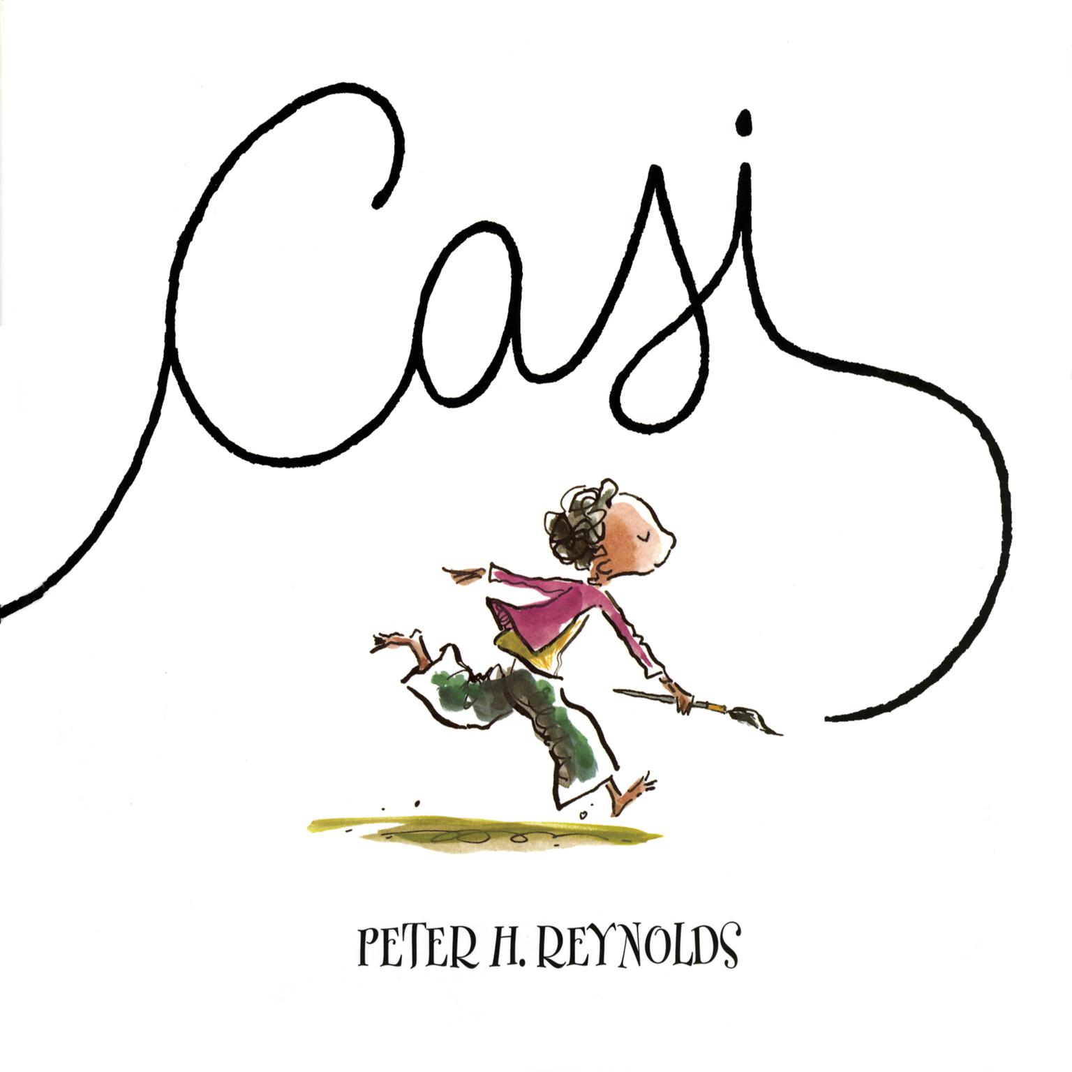 Printable Casi Audiobook Cover Art