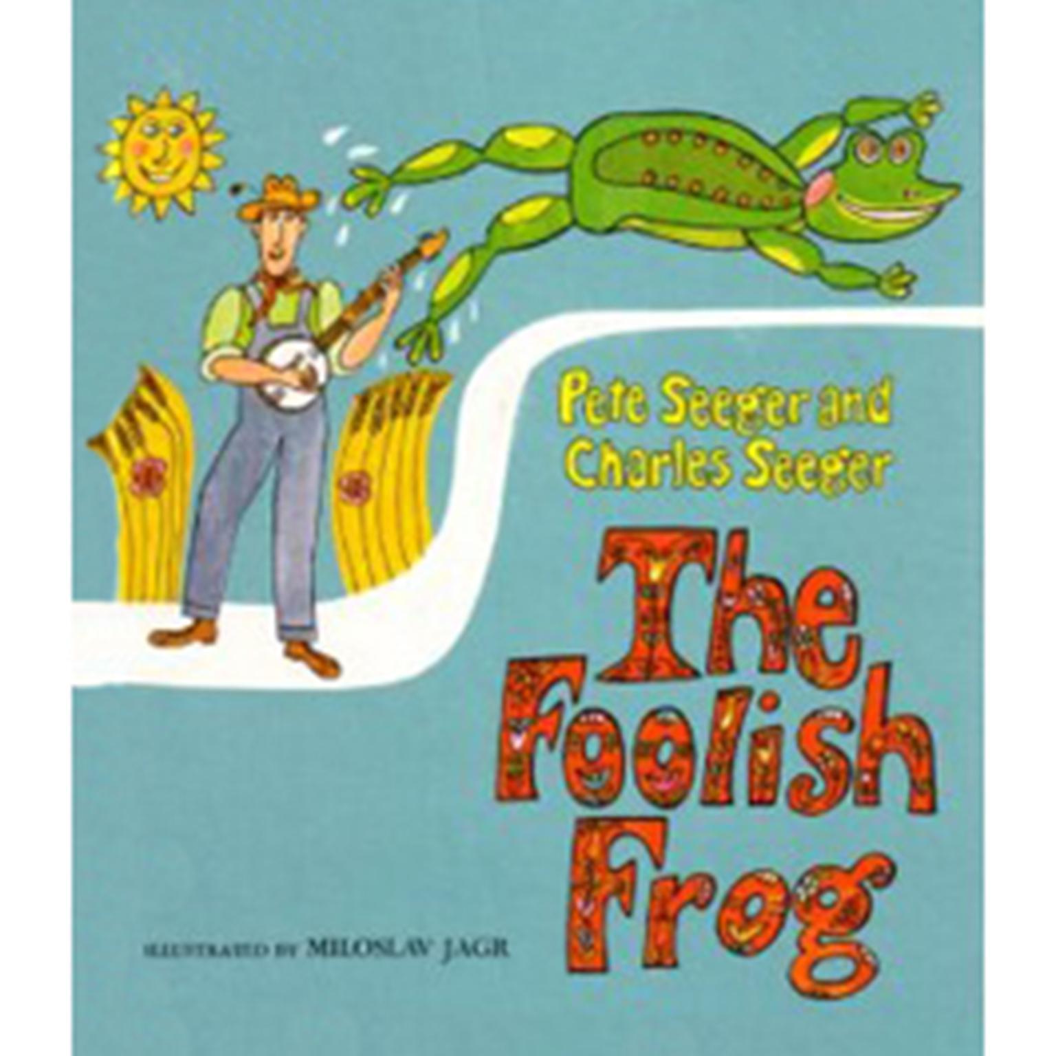 Printable Foolish Frog Audiobook Cover Art