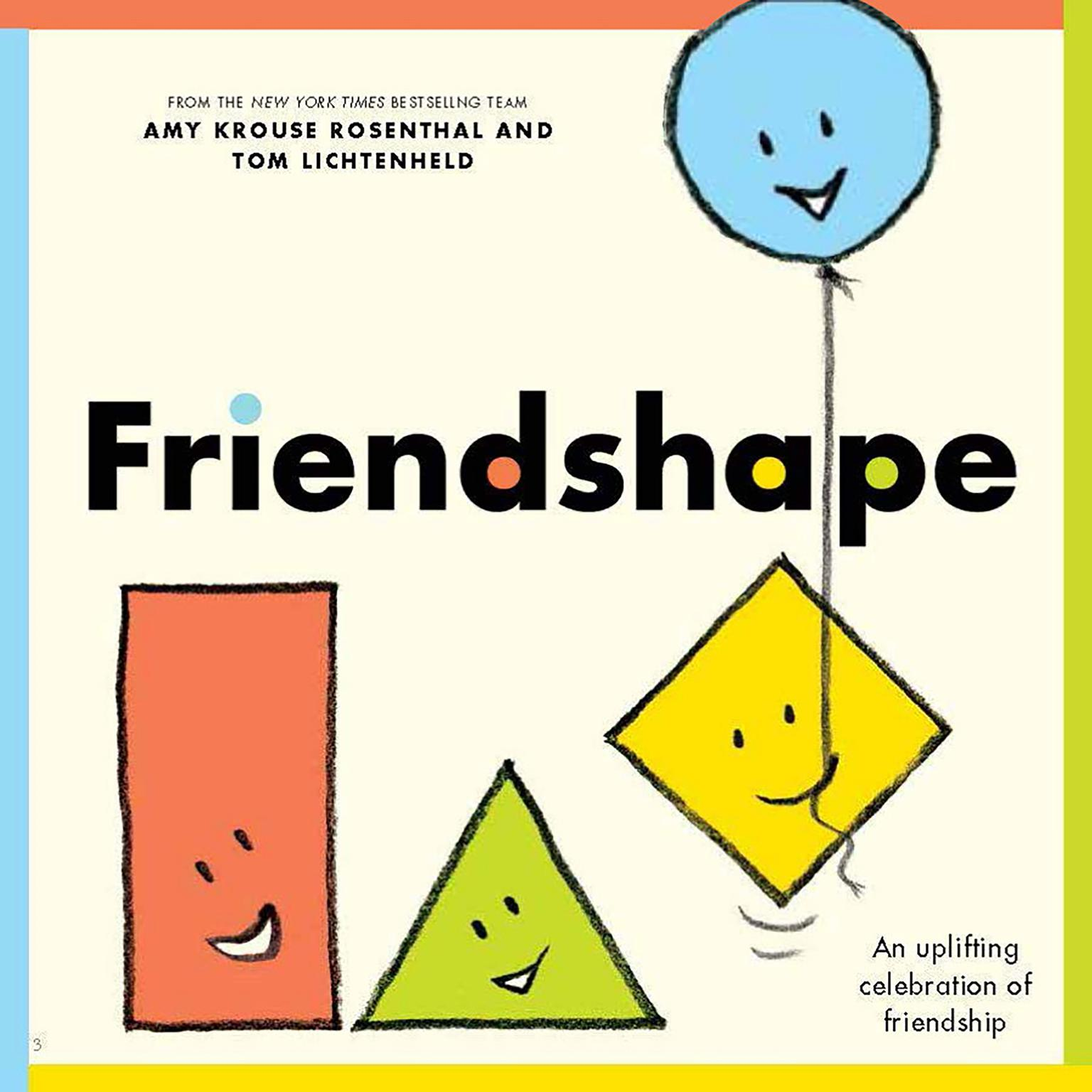Printable Friendshape Audiobook Cover Art