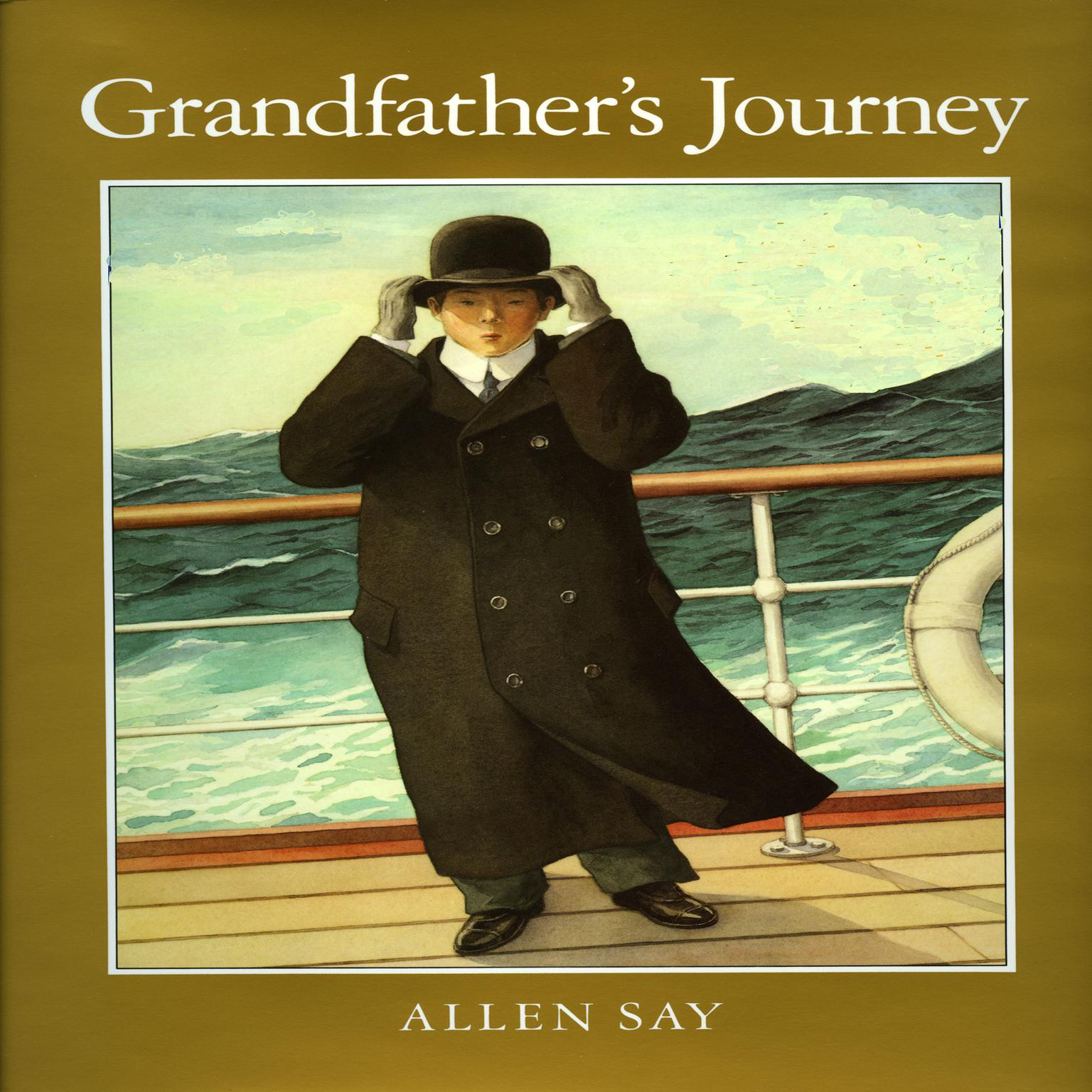 Printable Grandfather's Journey Audiobook Cover Art