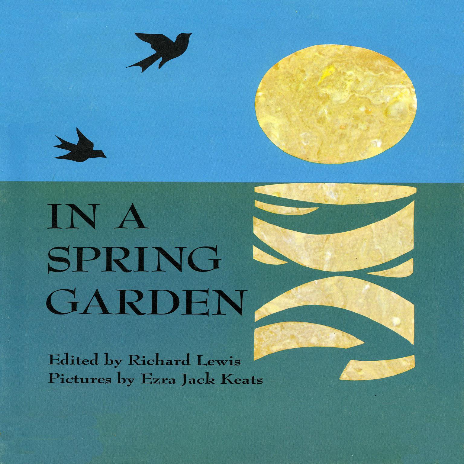 Printable In a Spring Garden Audiobook Cover Art