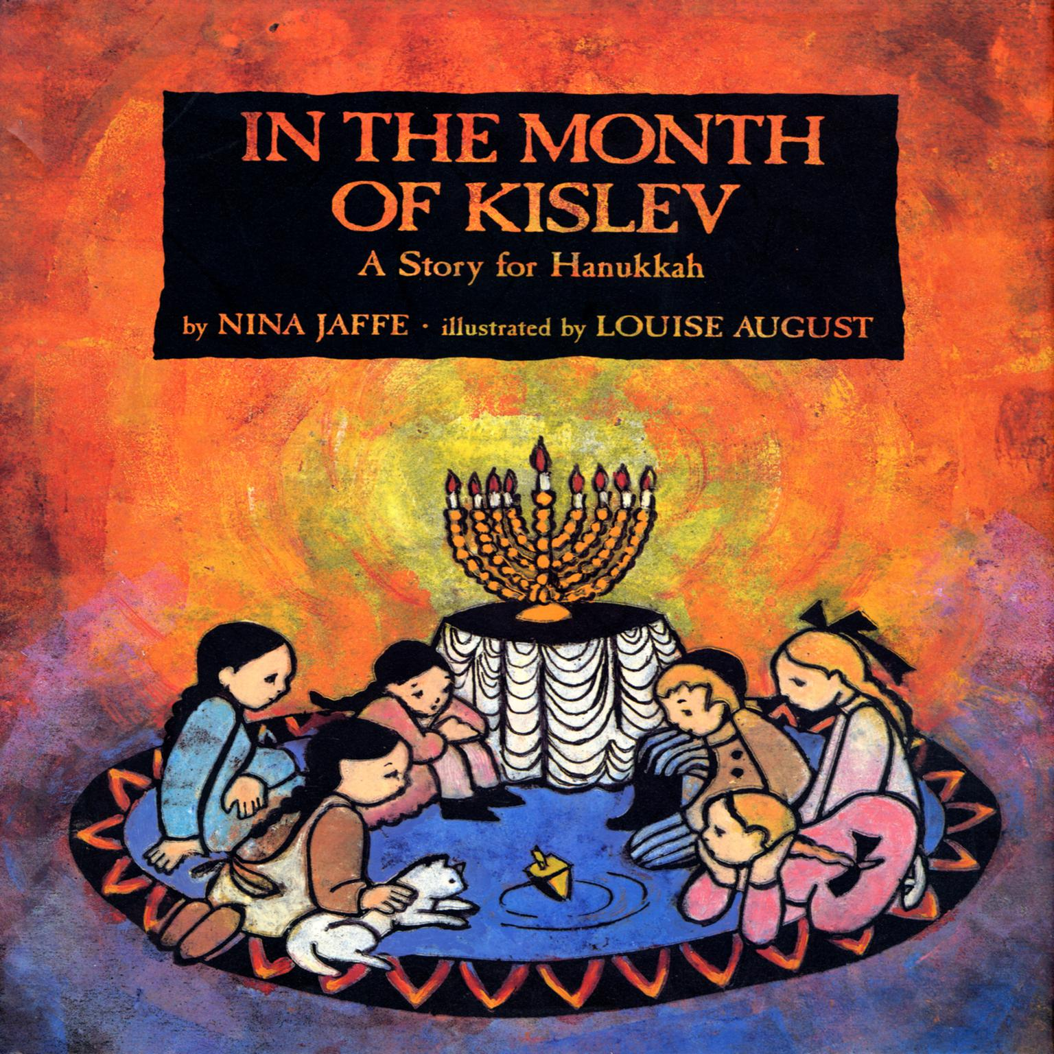 Printable In the Month of Kislev Audiobook Cover Art