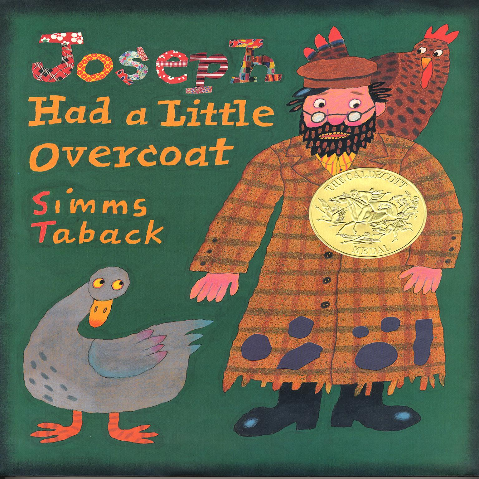 Printable Joseph Had A Little Overcoat Audiobook Cover Art