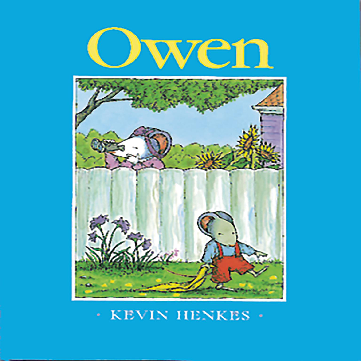 Printable Owen Audiobook Cover Art
