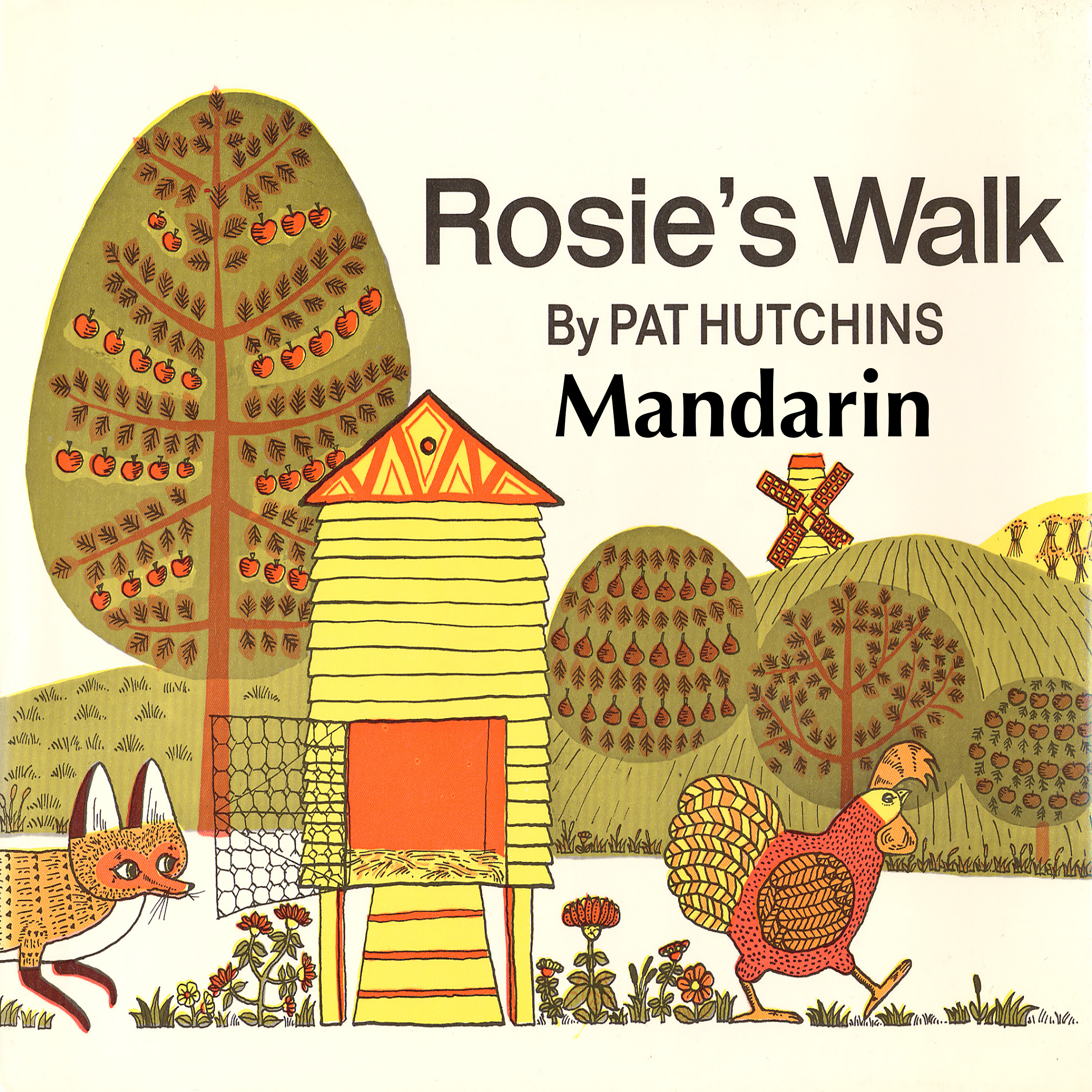 Printable Rosie's Walk [Mandarin Edition] Audiobook Cover Art