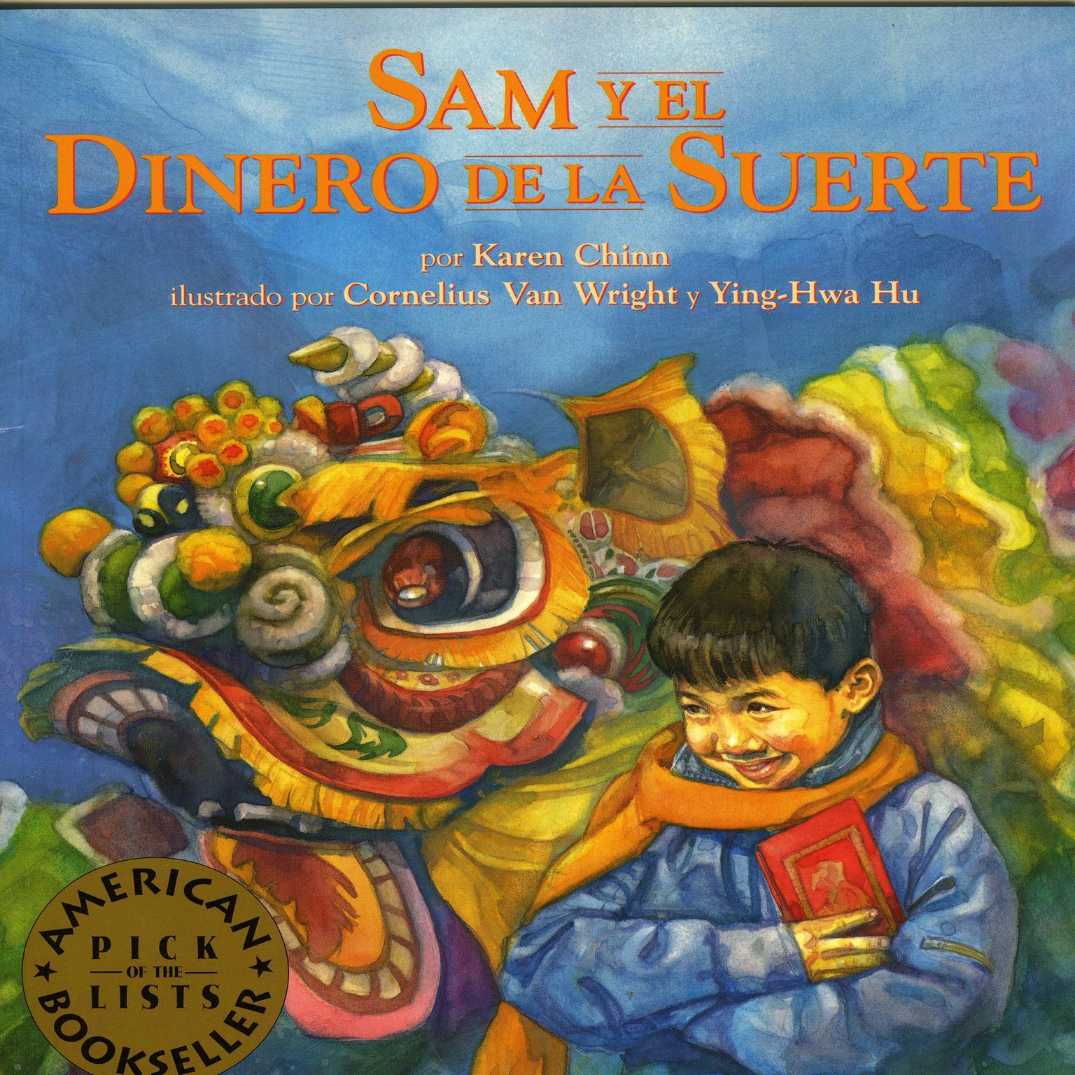 Printable Sam y el Dinero de le Suerte Audiobook Cover Art