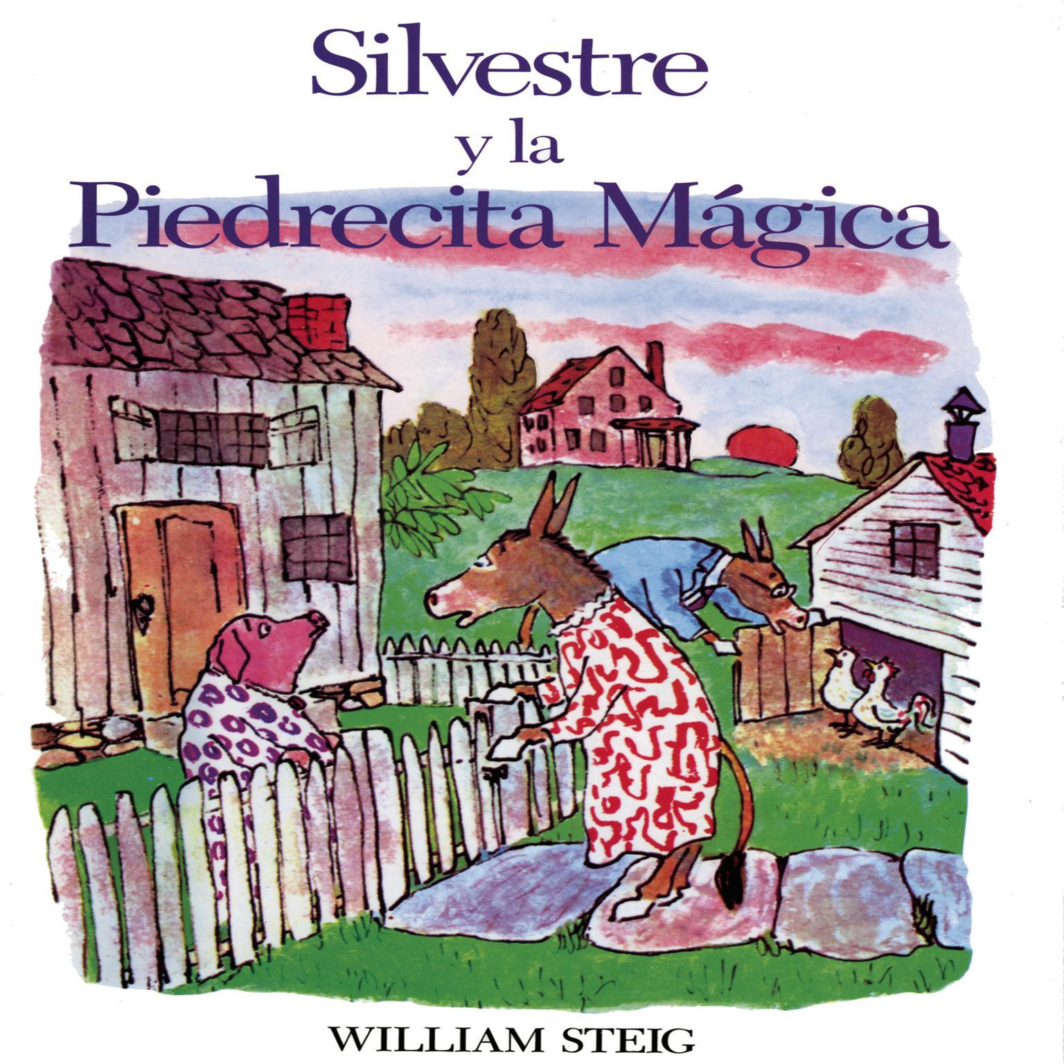Printable Silvestre y la Pierdecita Magica Audiobook Cover Art