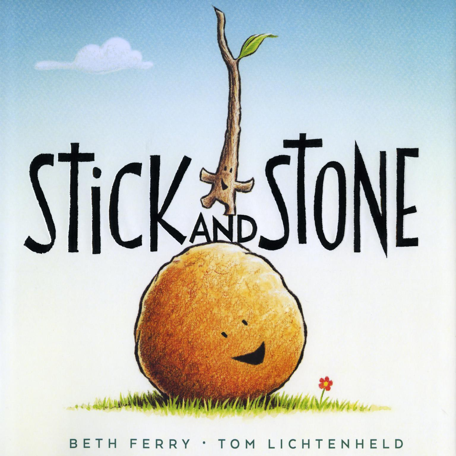Printable Stick and Stone Audiobook Cover Art