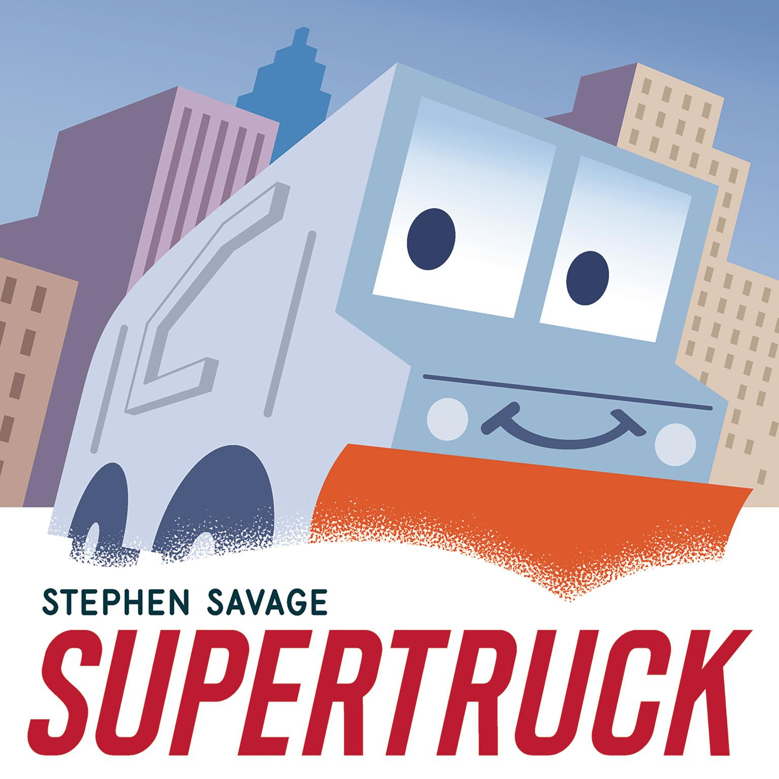Printable Supertruck Audiobook Cover Art