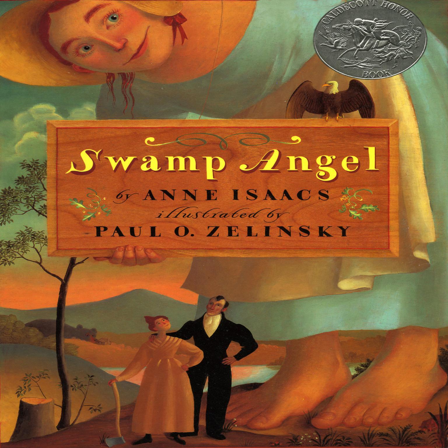 Printable Swamp Angel Audiobook Cover Art