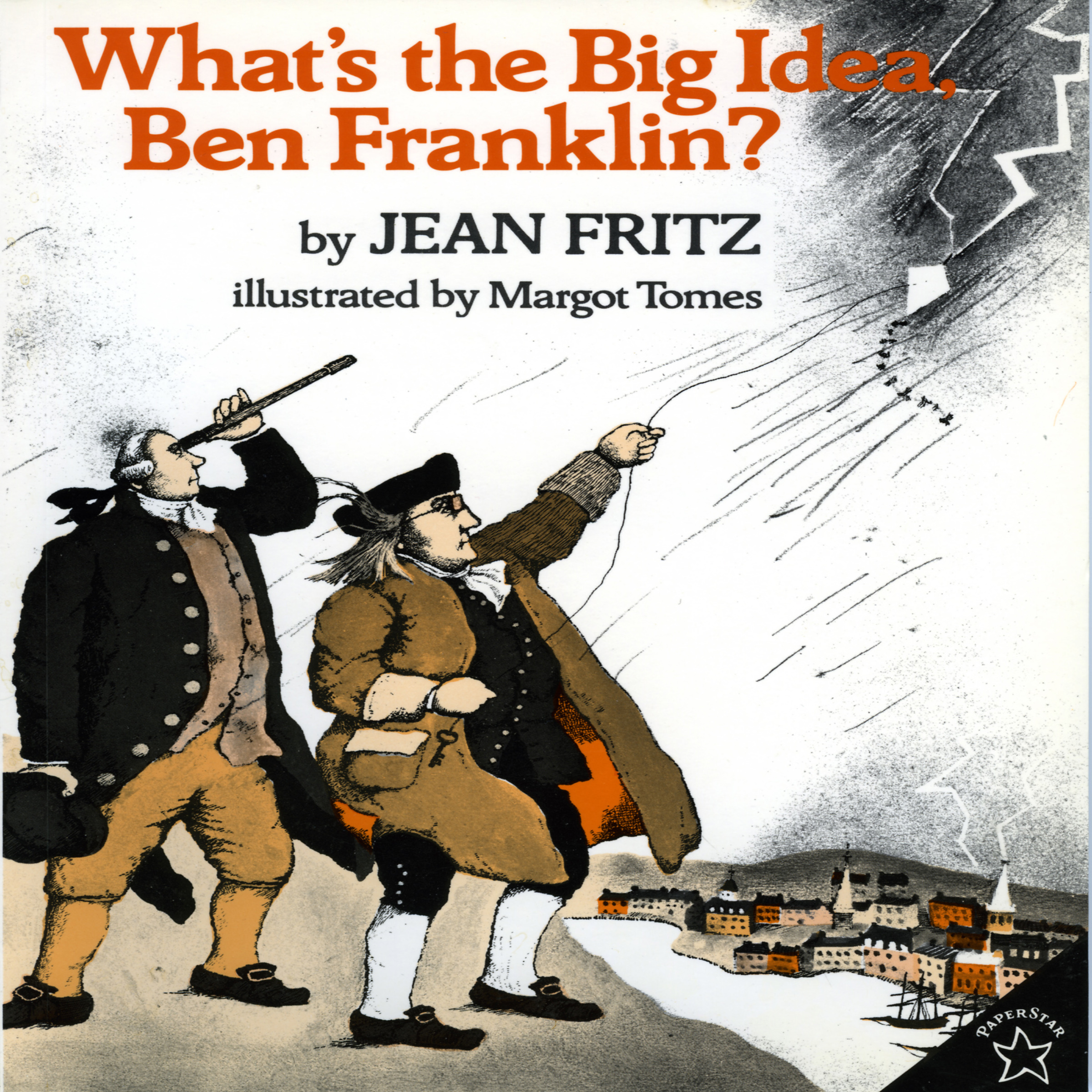 Printable What's The Big Idea, Ben Franklin? Audiobook Cover Art