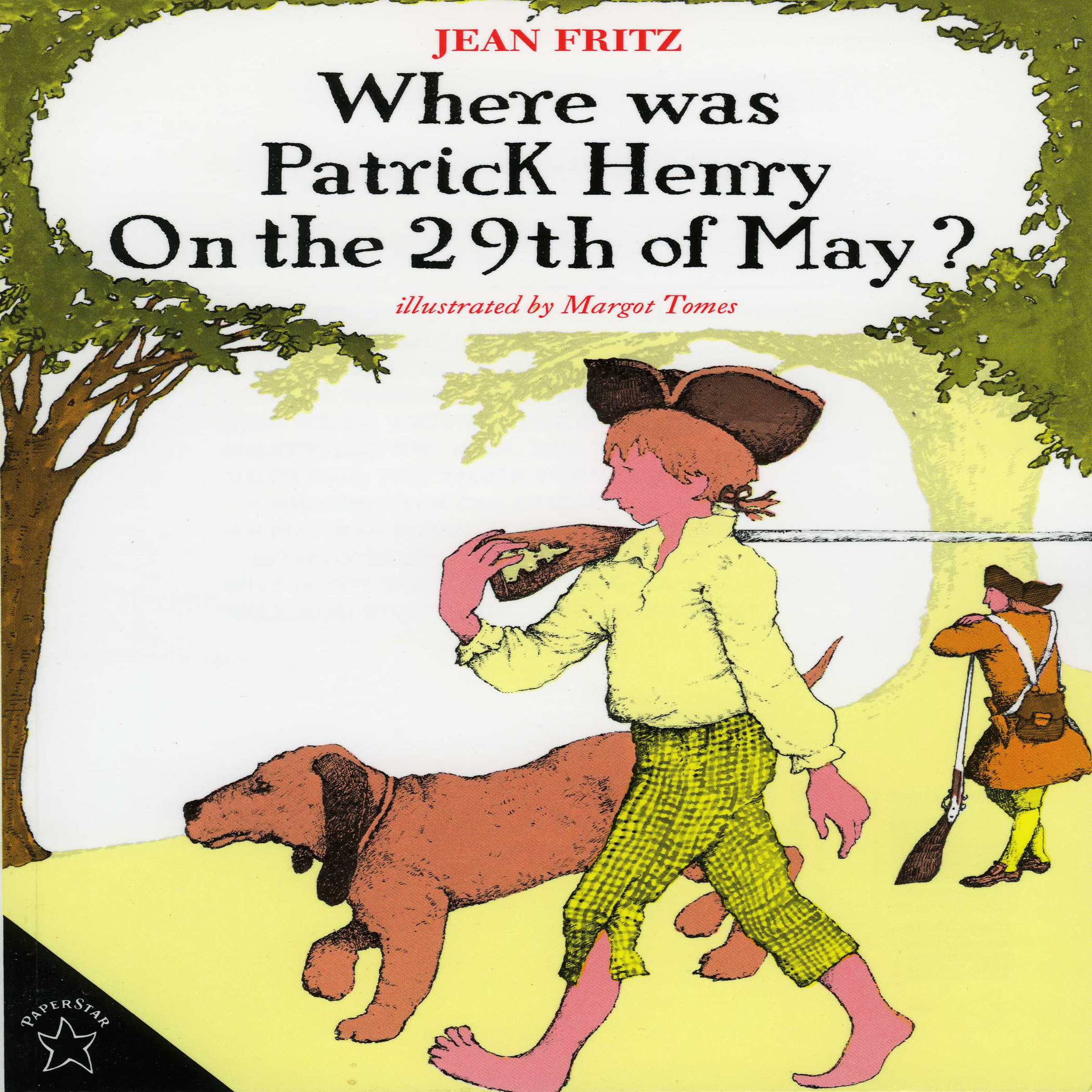 Printable Where was Patrick Henry on the 29th of May? Audiobook Cover Art