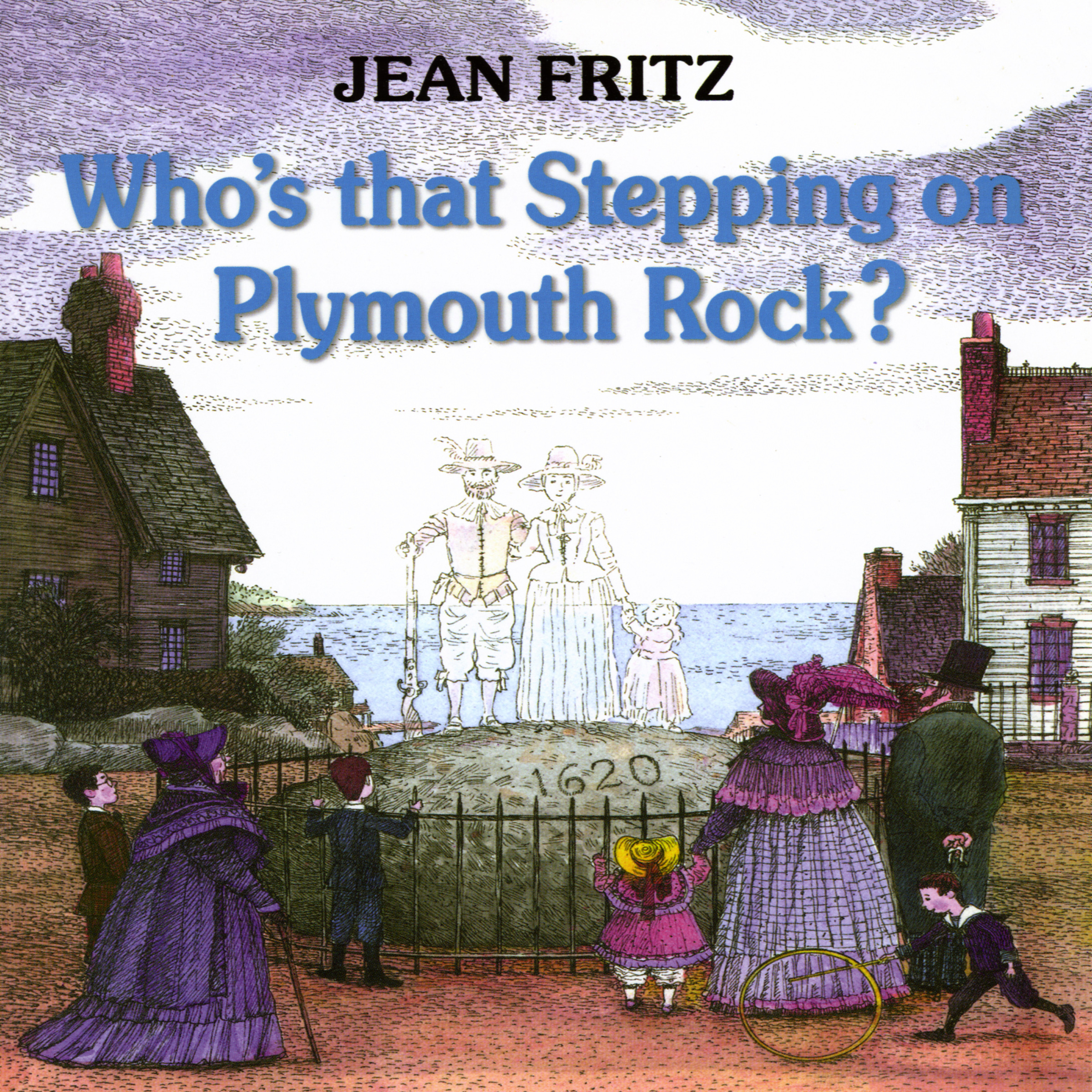 Printable Who's That Stepping On Plymouth Rock? Audiobook Cover Art