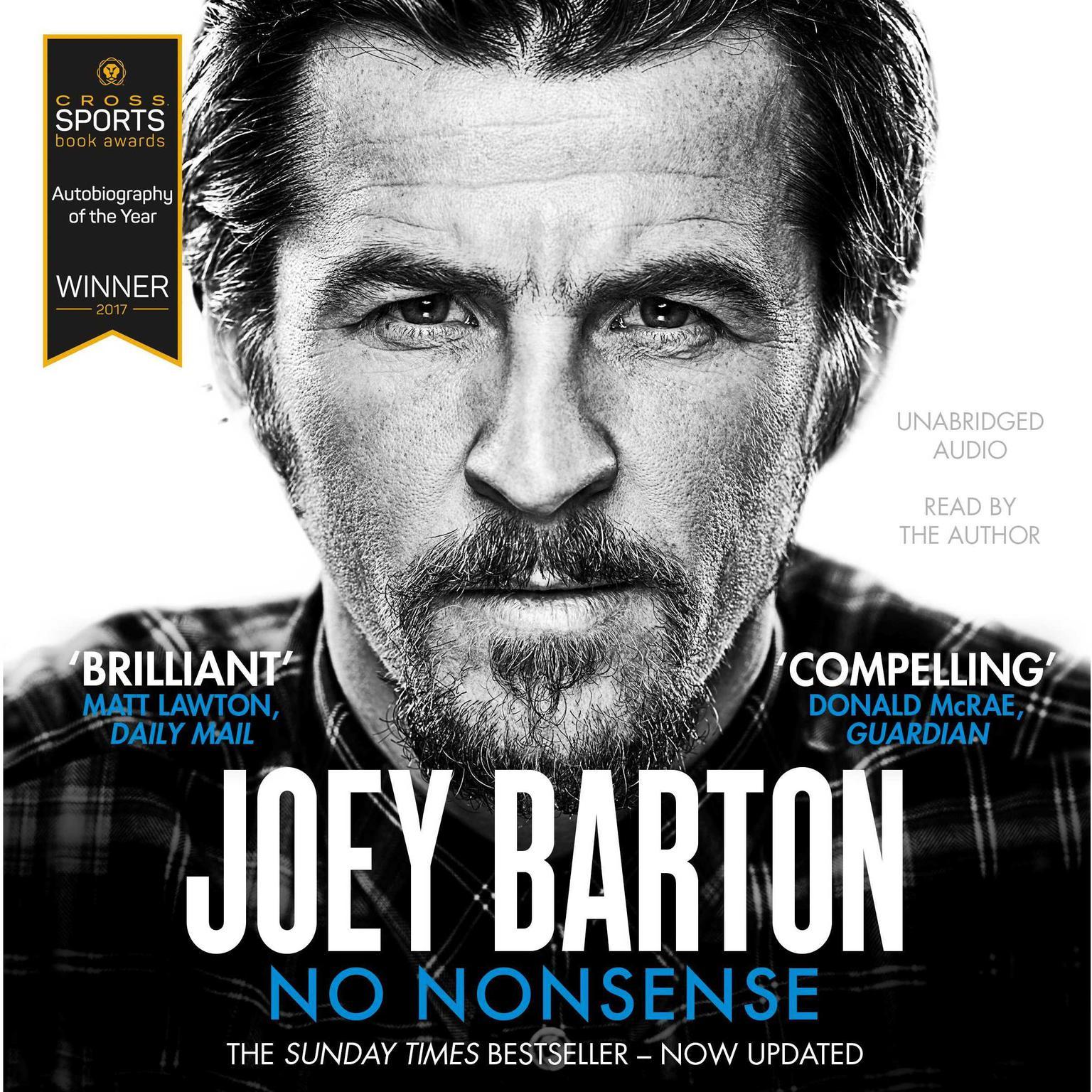 No Nonsense: The Autobiography Audiobook, by Joey Barton