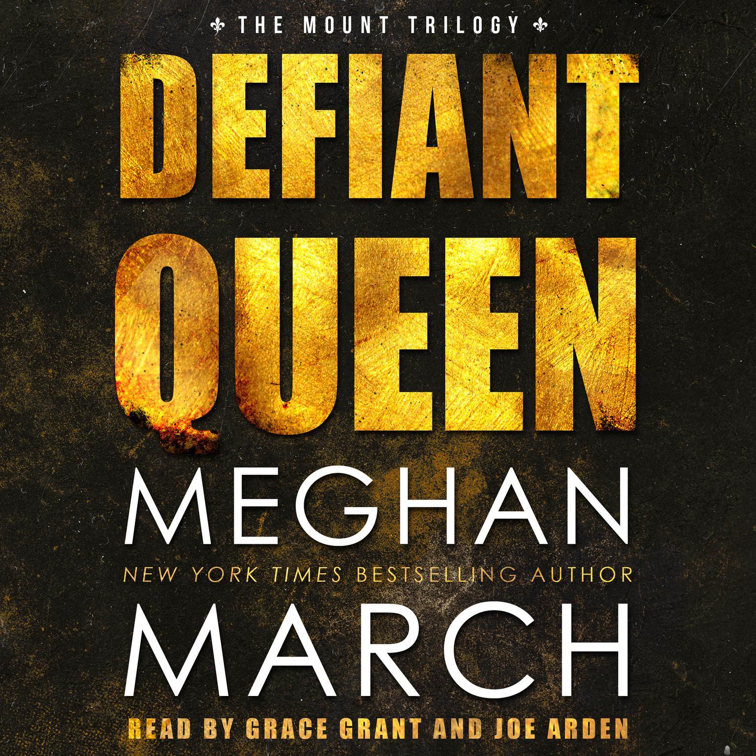 Printable Defiant Queen Audiobook Cover Art