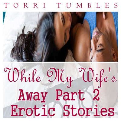 While My Wifes Away Part 2 Erotic Stories  Audiobook, by Torri Tumbles
