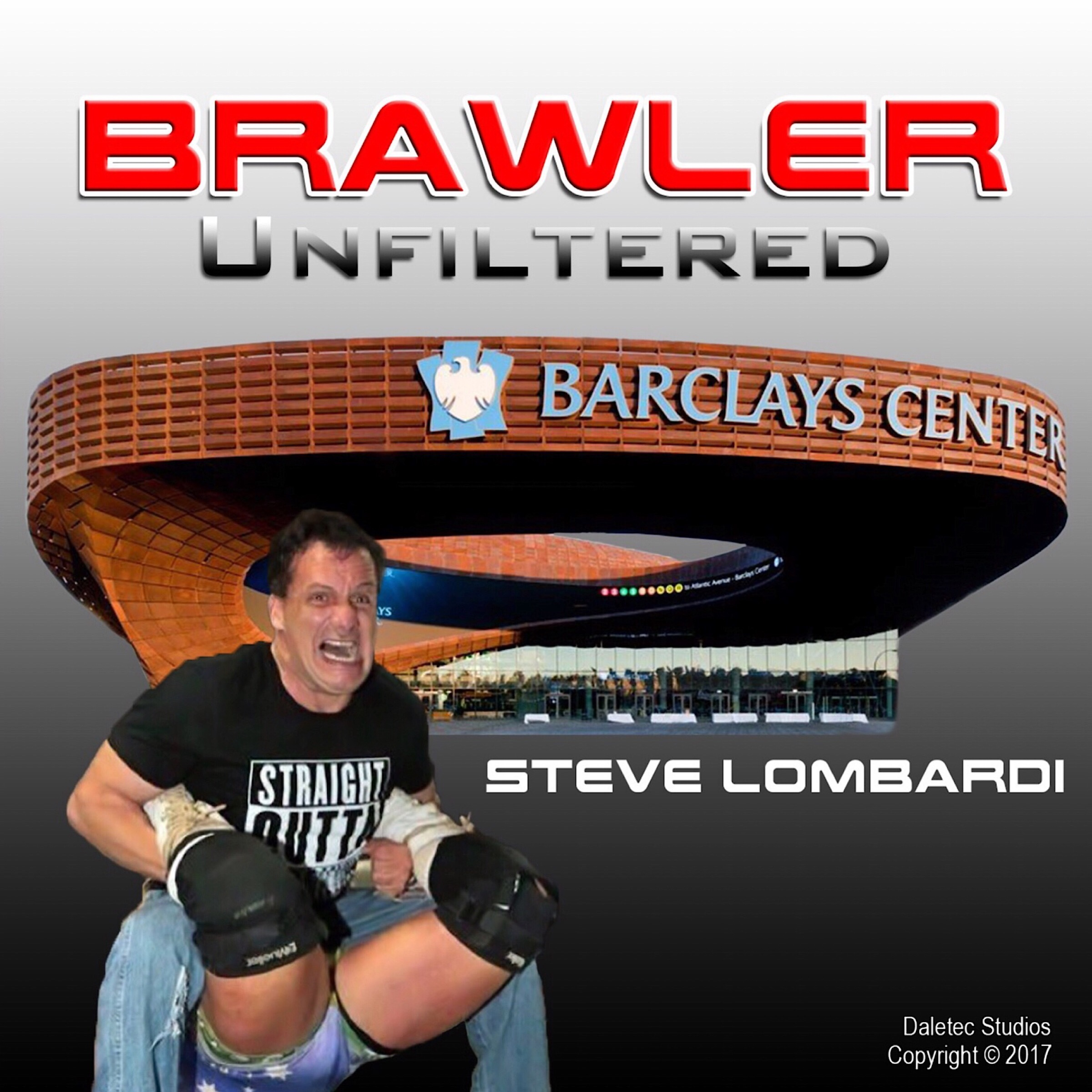 Printable Brawler Unfiltered Audiobook Cover Art